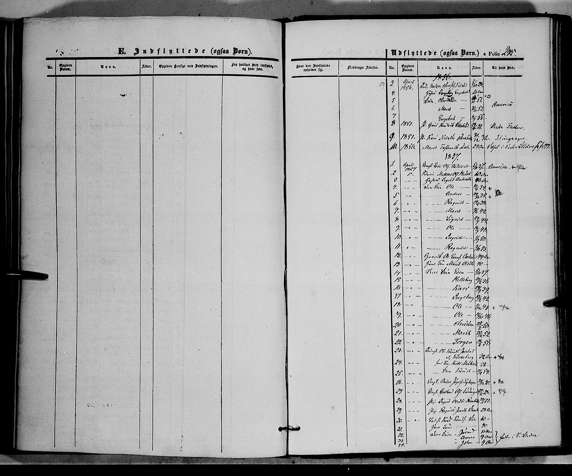 SAH, Øystre Slidre prestekontor, Ministerialbok nr. 1, 1849-1874, s. 244