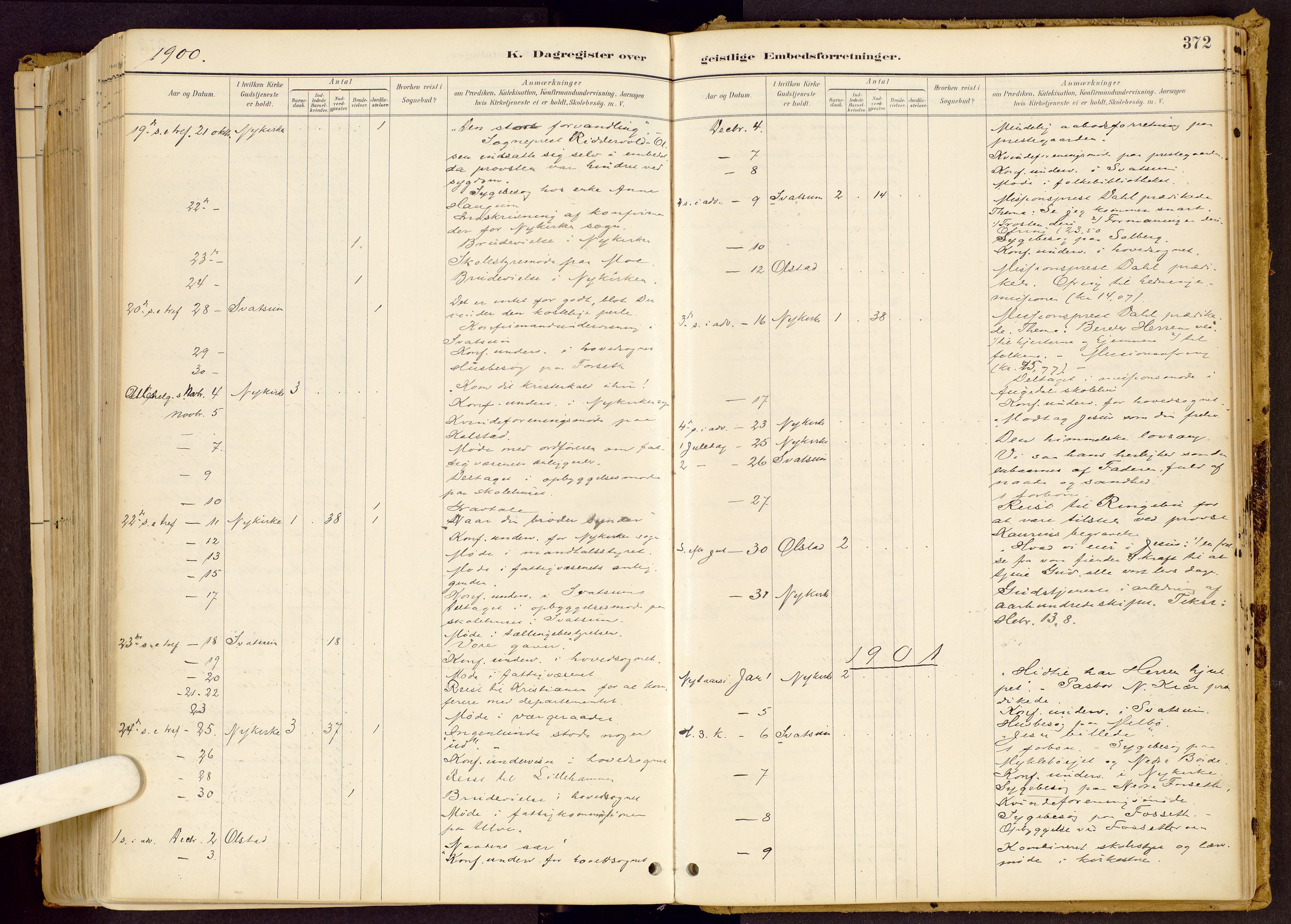 SAH, Vestre Gausdal prestekontor, Ministerialbok nr. 1, 1887-1914, s. 372
