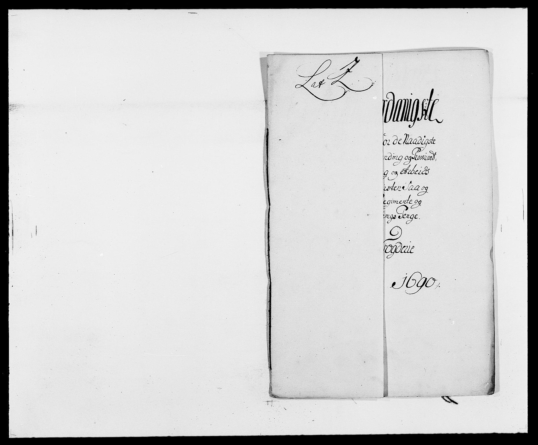 RA, Rentekammeret inntil 1814, Reviderte regnskaper, Fogderegnskap, R34/L2051: Fogderegnskap Bamble, 1688-1691, s. 34
