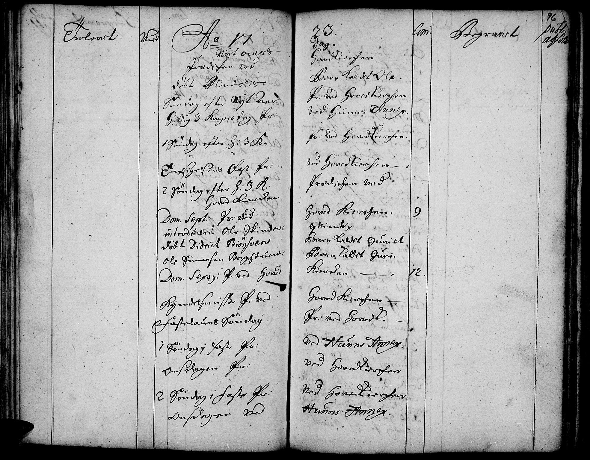 SAH, Vardal prestekontor, H/Ha/Haa/L0001: Ministerialbok nr. 1, 1706-1748, s. 96