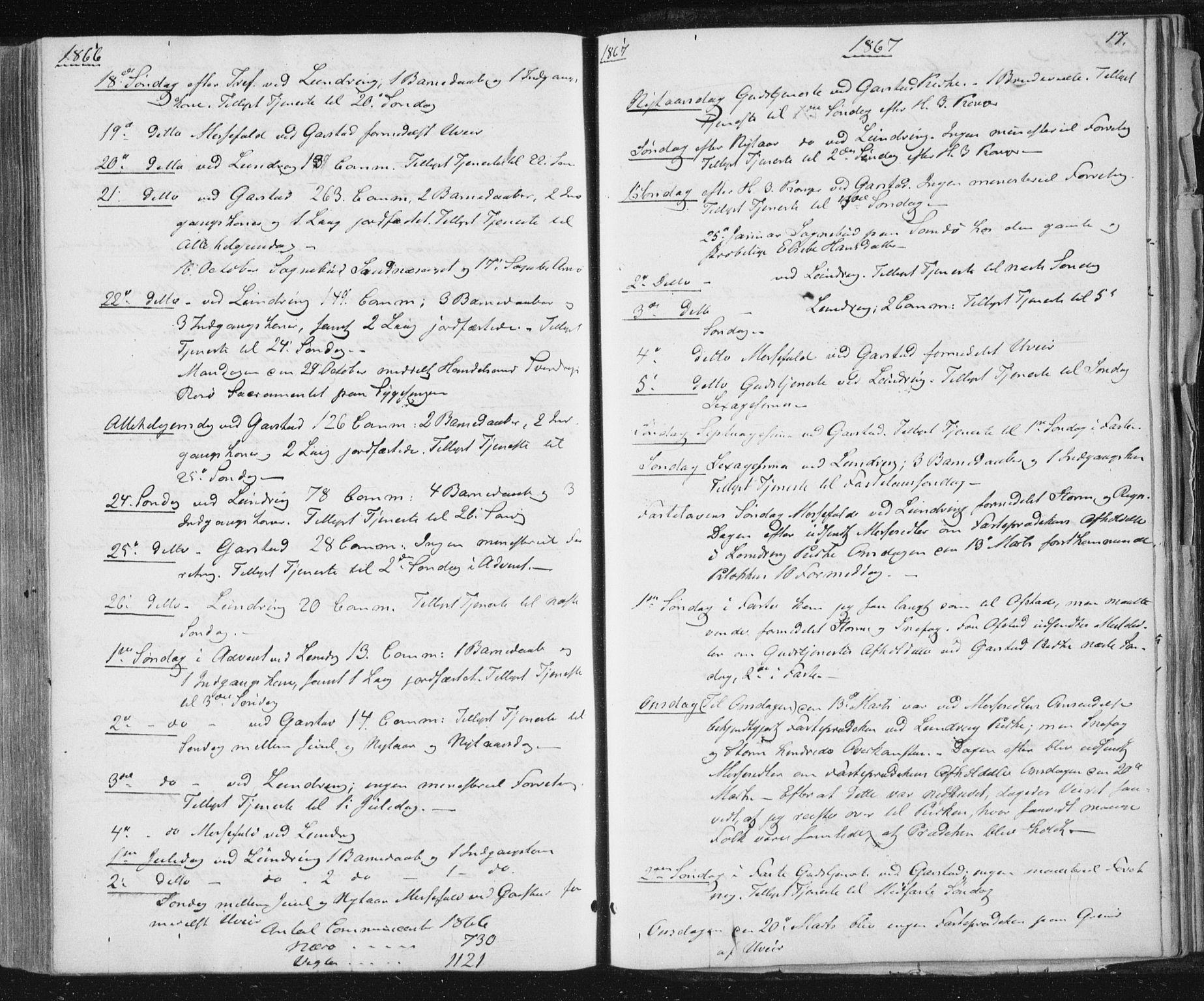 SAT, Ministerialprotokoller, klokkerbøker og fødselsregistre - Nord-Trøndelag, 784/L0670: Ministerialbok nr. 784A05, 1860-1876, s. 17