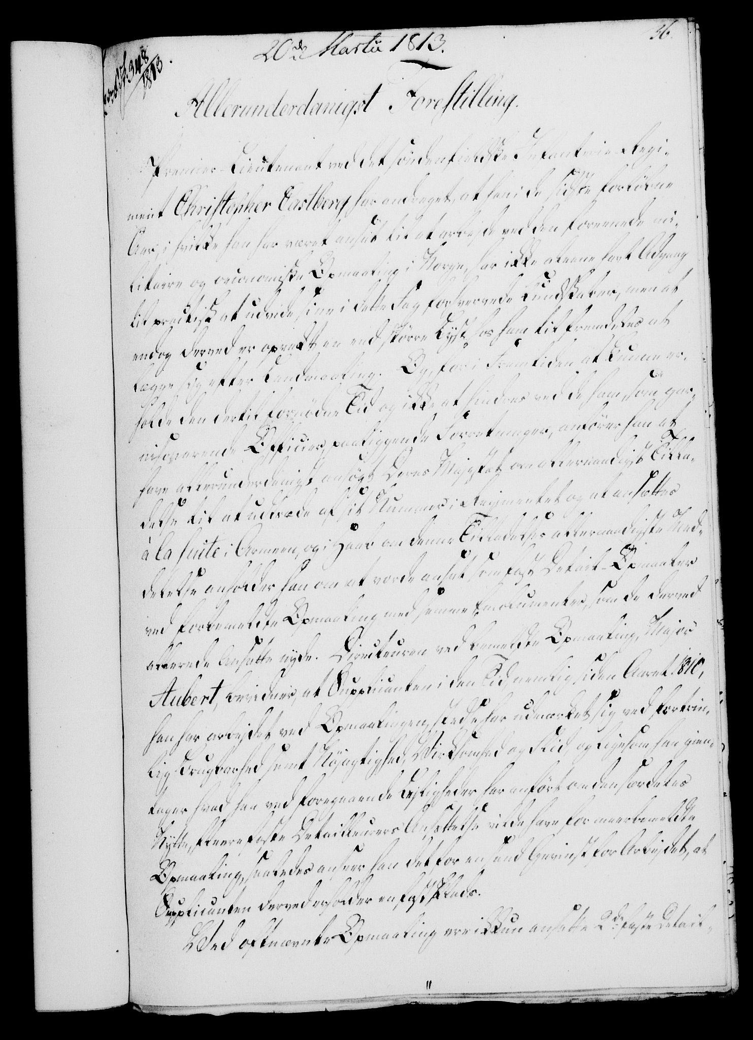 RA, Rentekammeret, Kammerkanselliet, G/Gf/Gfa/L0095: Norsk relasjons- og resolusjonsprotokoll (merket RK 52.95), 1813-1814, s. 144