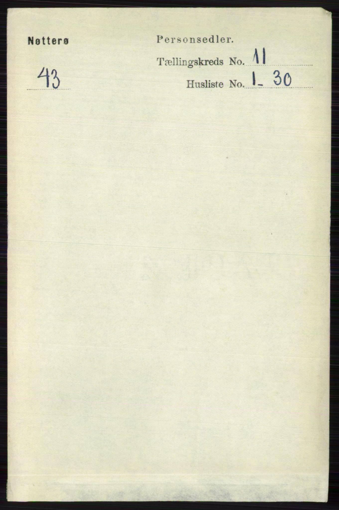RA, Folketelling 1891 for 0722 Nøtterøy herred, 1891, s. 5812