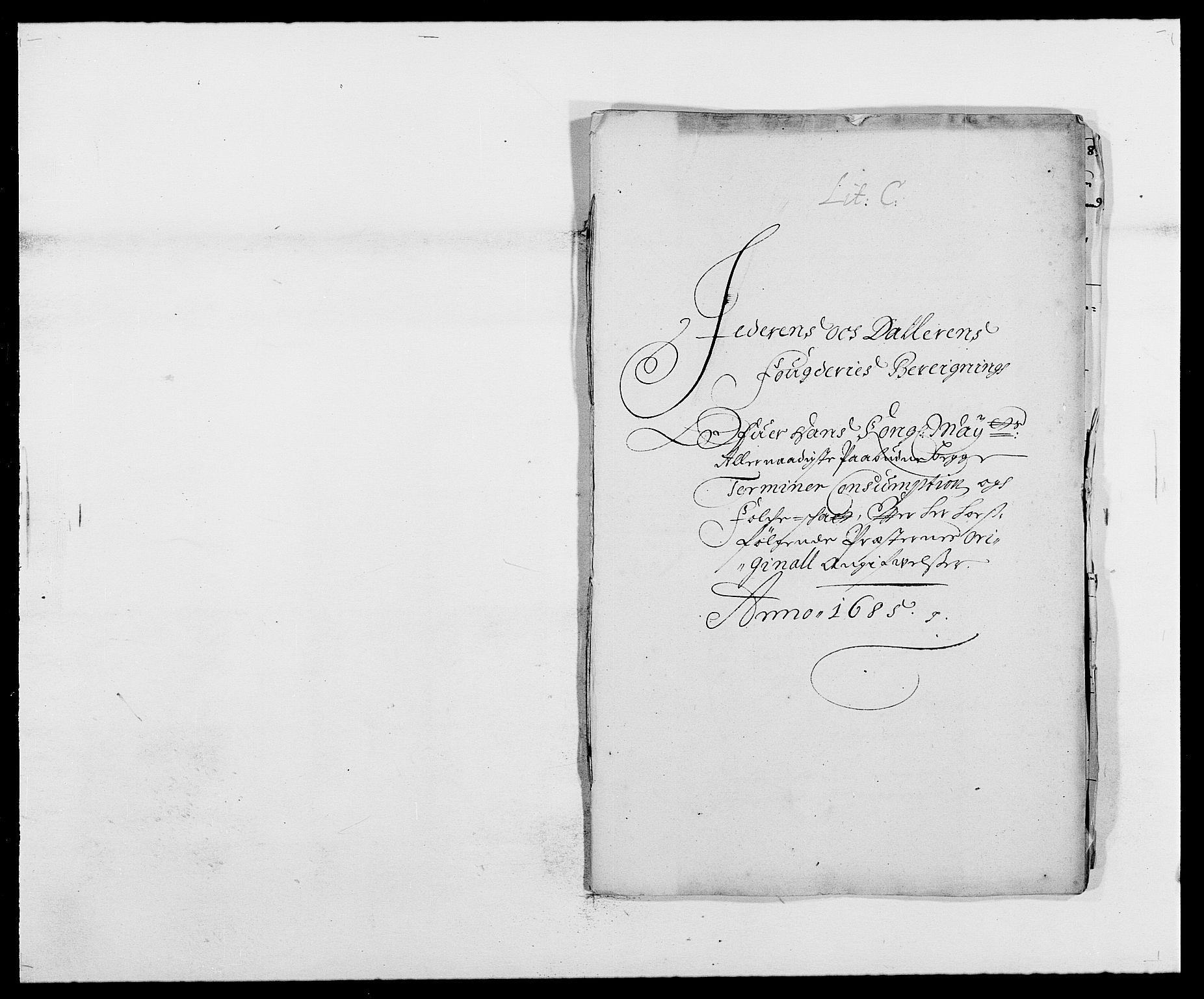 RA, Rentekammeret inntil 1814, Reviderte regnskaper, Fogderegnskap, R46/L2725: Fogderegnskap Jæren og Dalane, 1685, s. 92