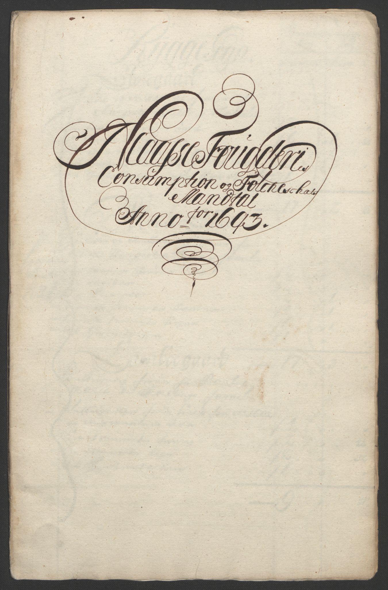 RA, Rentekammeret inntil 1814, Reviderte regnskaper, Fogderegnskap, R02/L0108: Fogderegnskap Moss og Verne kloster, 1692-1693, s. 331