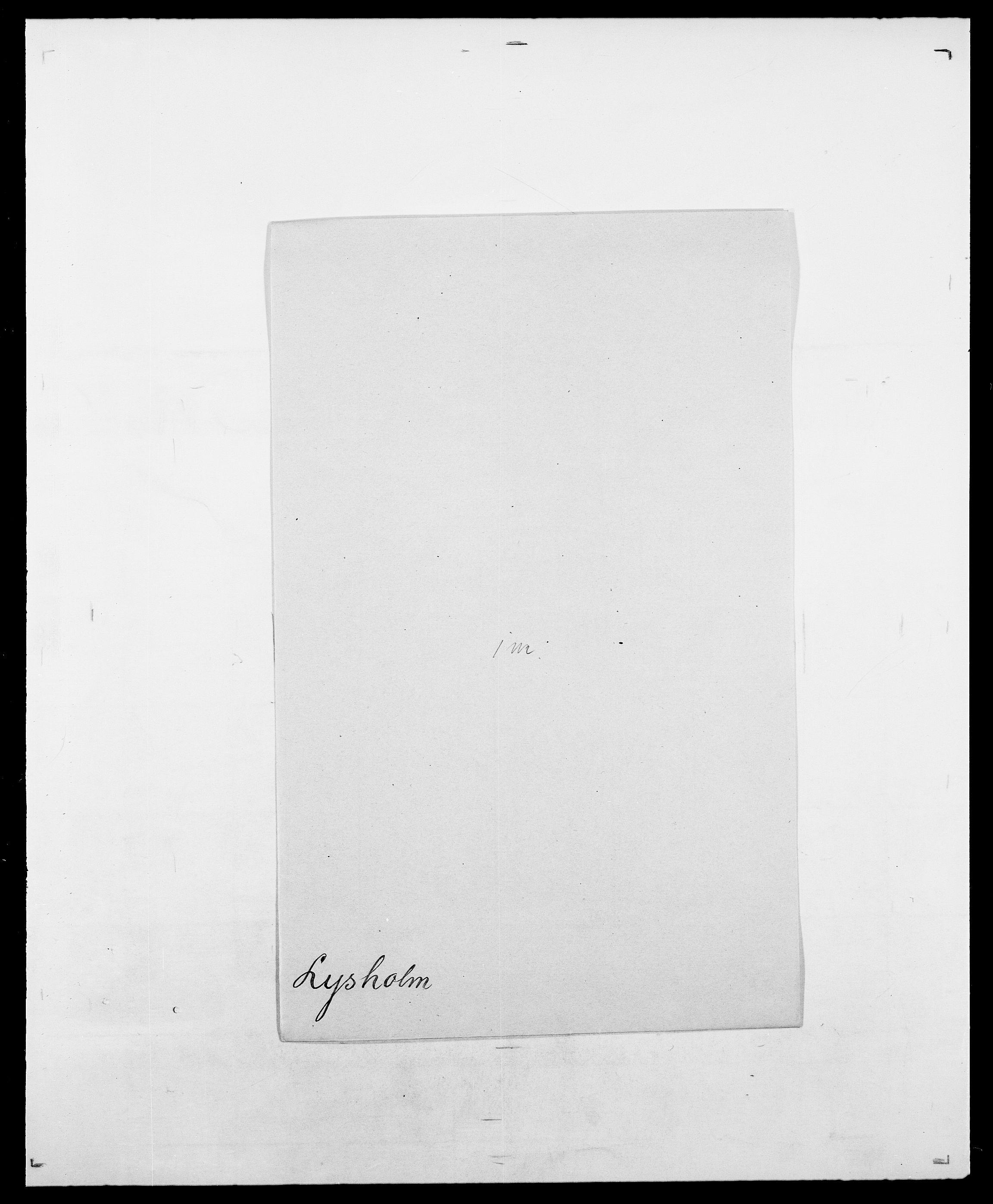 SAO, Delgobe, Charles Antoine - samling, D/Da/L0024: Lobech - Lærum, s. 775
