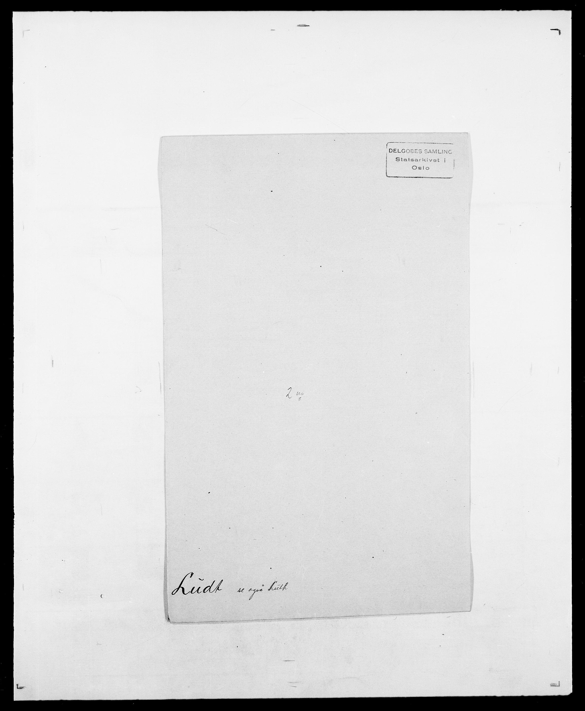 SAO, Delgobe, Charles Antoine - samling, D/Da/L0024: Lobech - Lærum, s. 373