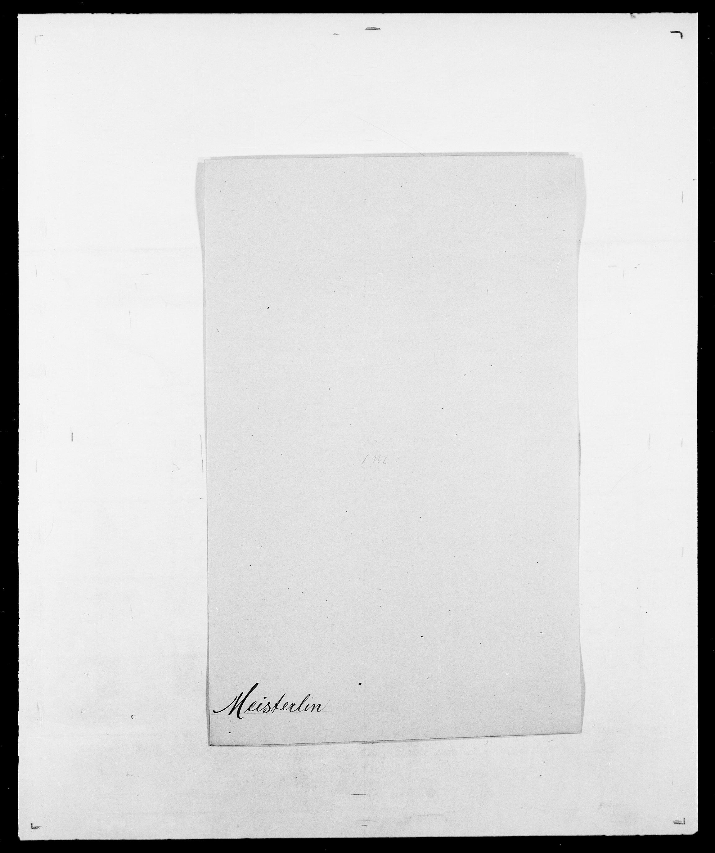 SAO, Delgobe, Charles Antoine - samling, D/Da/L0026: Mechelby - Montoppidan, s. 205