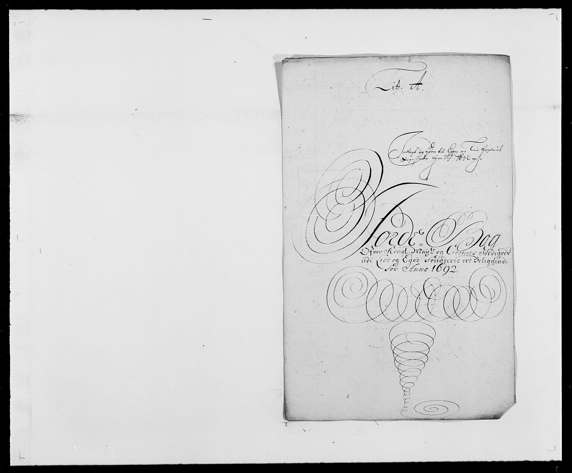 RA, Rentekammeret inntil 1814, Reviderte regnskaper, Fogderegnskap, R28/L1690: Fogderegnskap Eiker og Lier, 1692-1693, s. 10