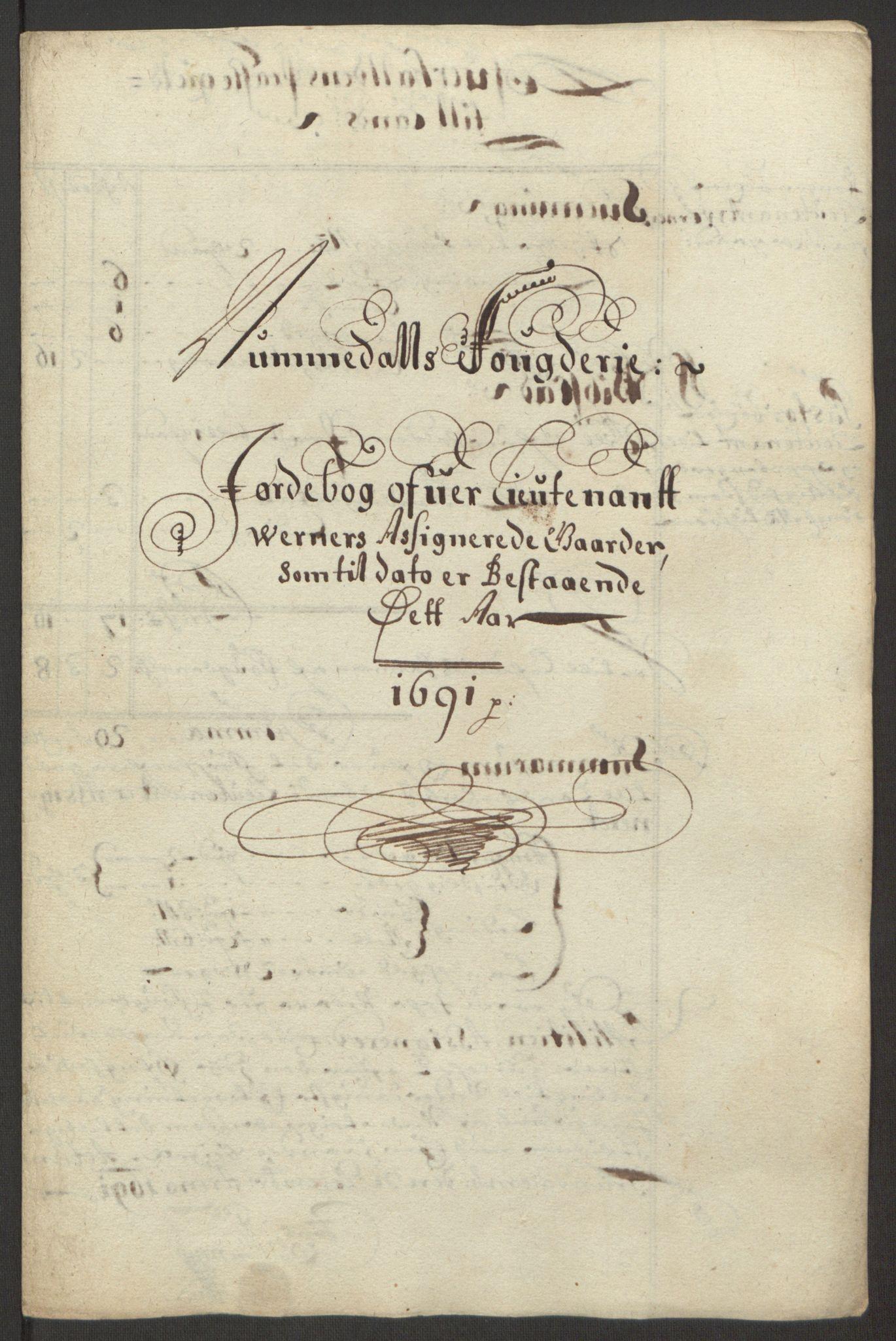 RA, Rentekammeret inntil 1814, Reviderte regnskaper, Fogderegnskap, R64/L4423: Fogderegnskap Namdal, 1690-1691, s. 355