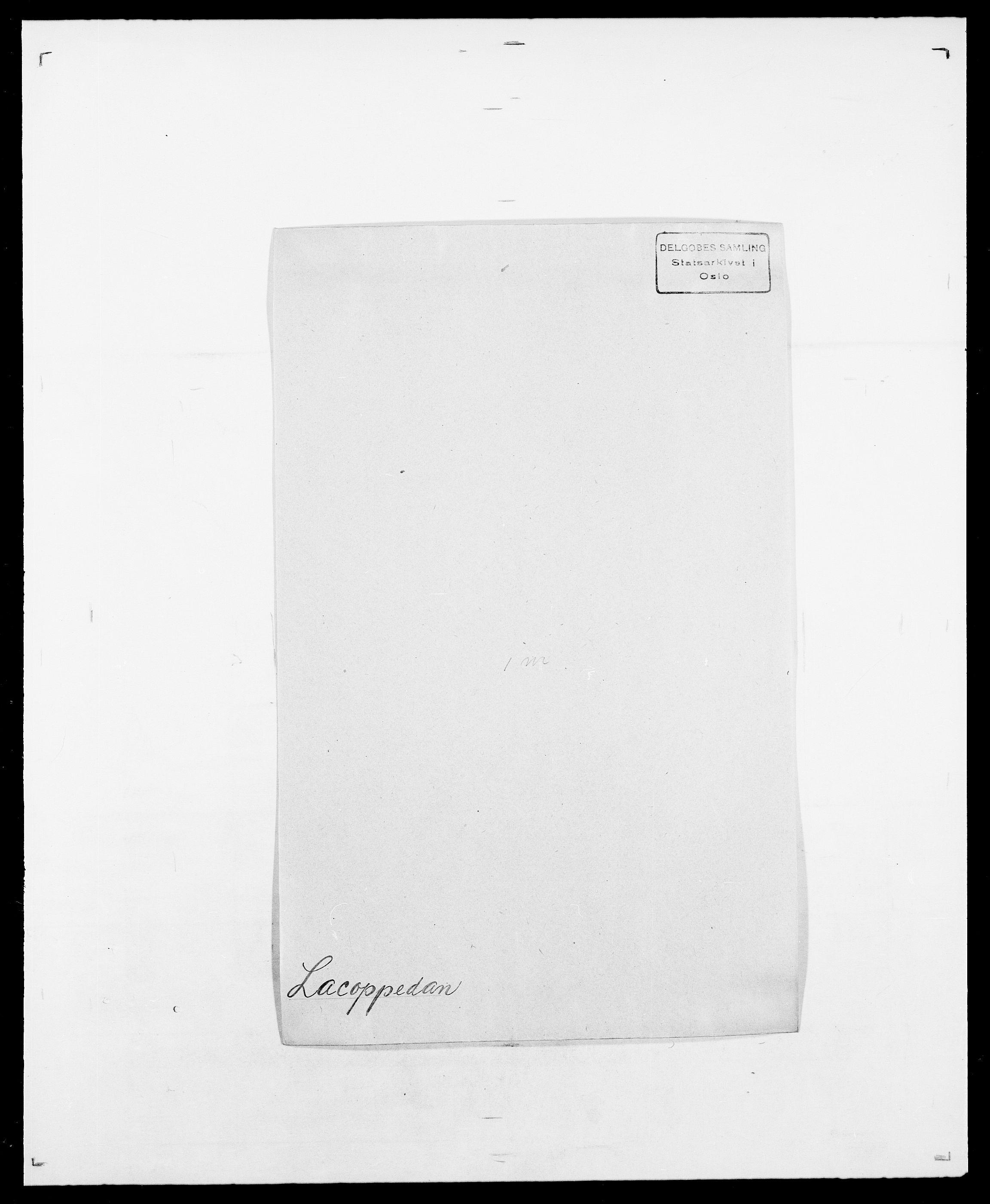 SAO, Delgobe, Charles Antoine - samling, D/Da/L0022: Krog - Lasteen, s. 368
