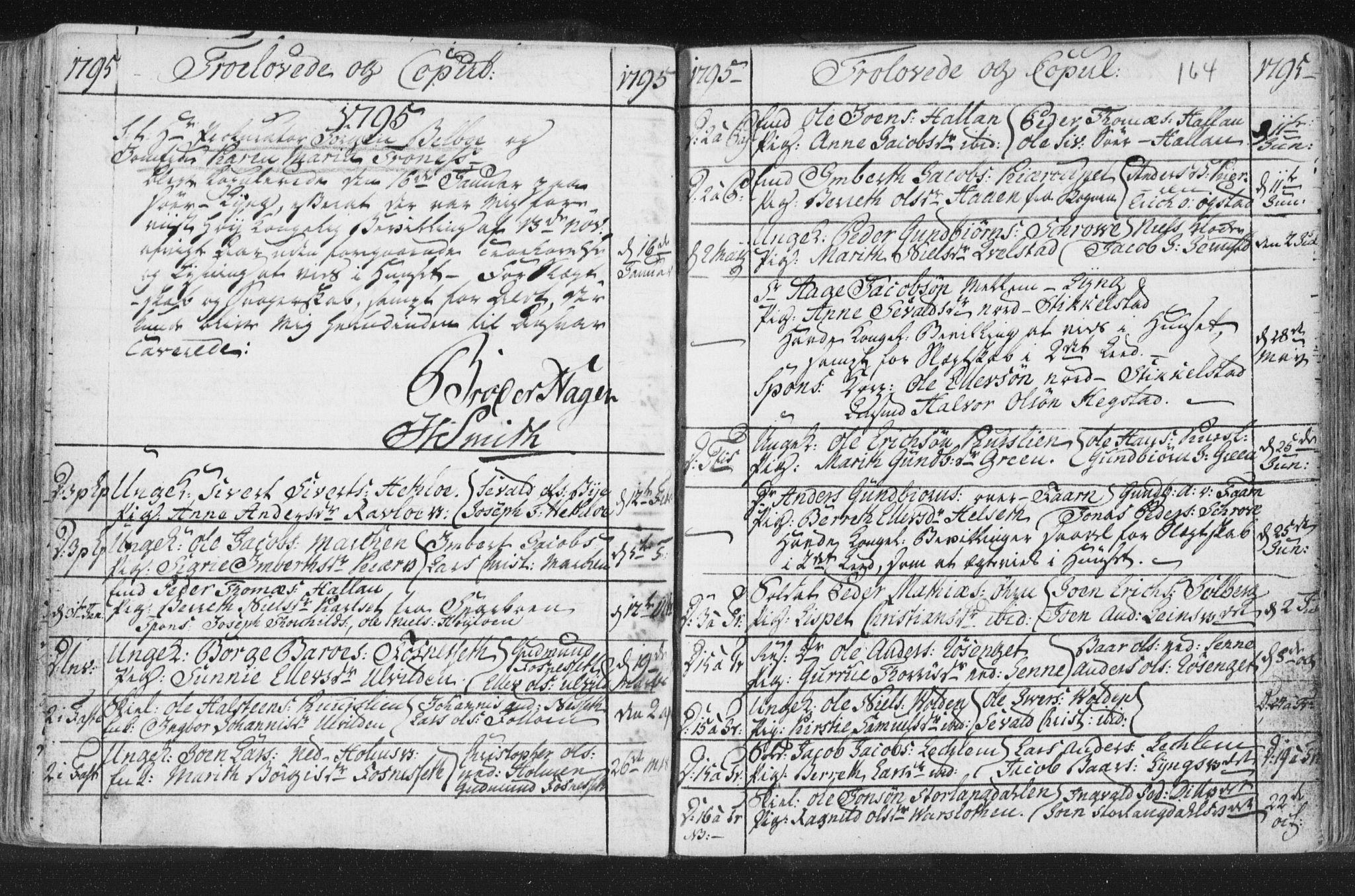 SAT, Ministerialprotokoller, klokkerbøker og fødselsregistre - Nord-Trøndelag, 723/L0232: Ministerialbok nr. 723A03, 1781-1804, s. 164