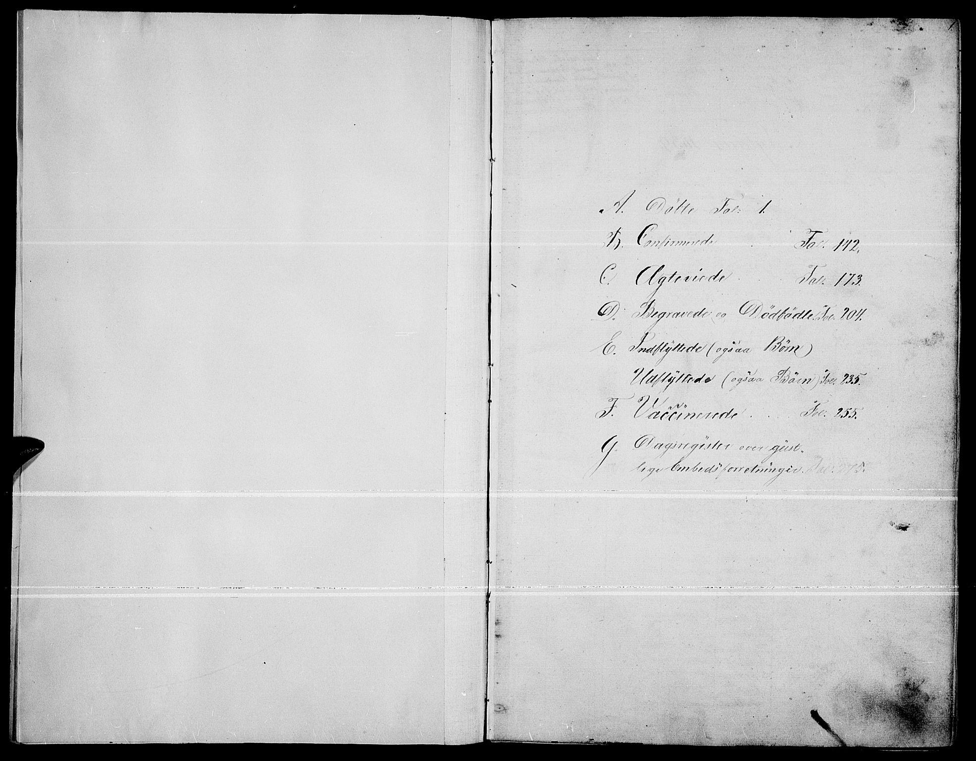 SAH, Fron prestekontor, H/Ha/Haa/L0004: Ministerialbok nr. 4, 1839-1848, s. 1