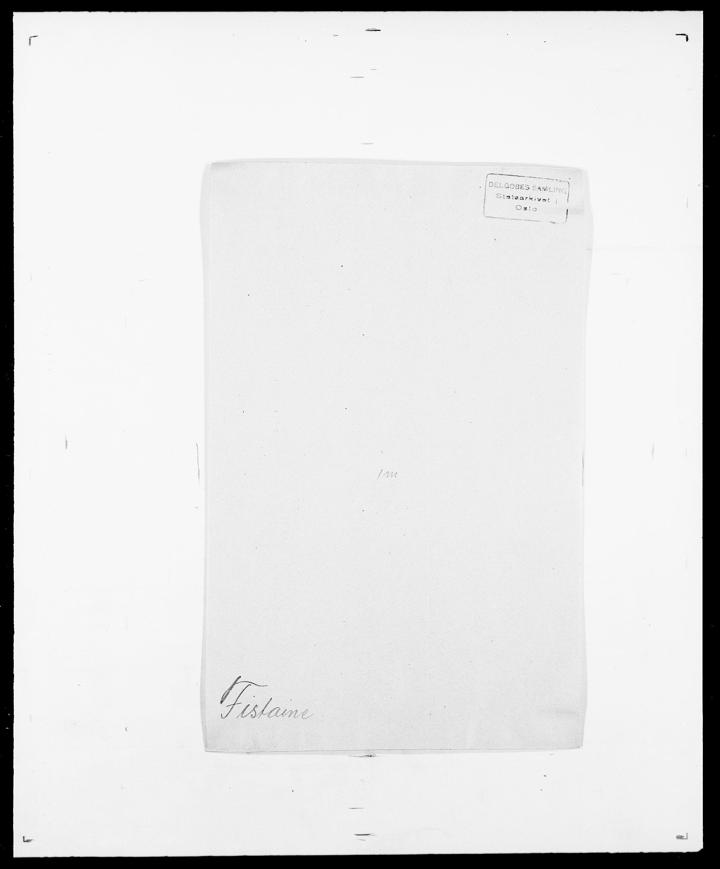 SAO, Delgobe, Charles Antoine - samling, D/Da/L0011: Fahlander - Flood, Flod, s. 550