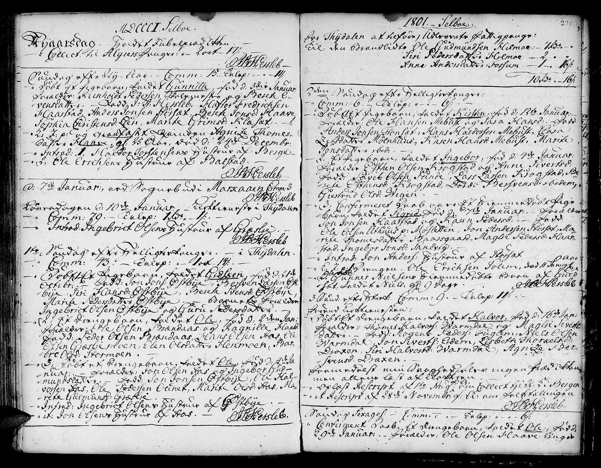 SAT, Ministerialprotokoller, klokkerbøker og fødselsregistre - Sør-Trøndelag, 695/L1138: Ministerialbok nr. 695A02 /1, 1757-1801, s. 278