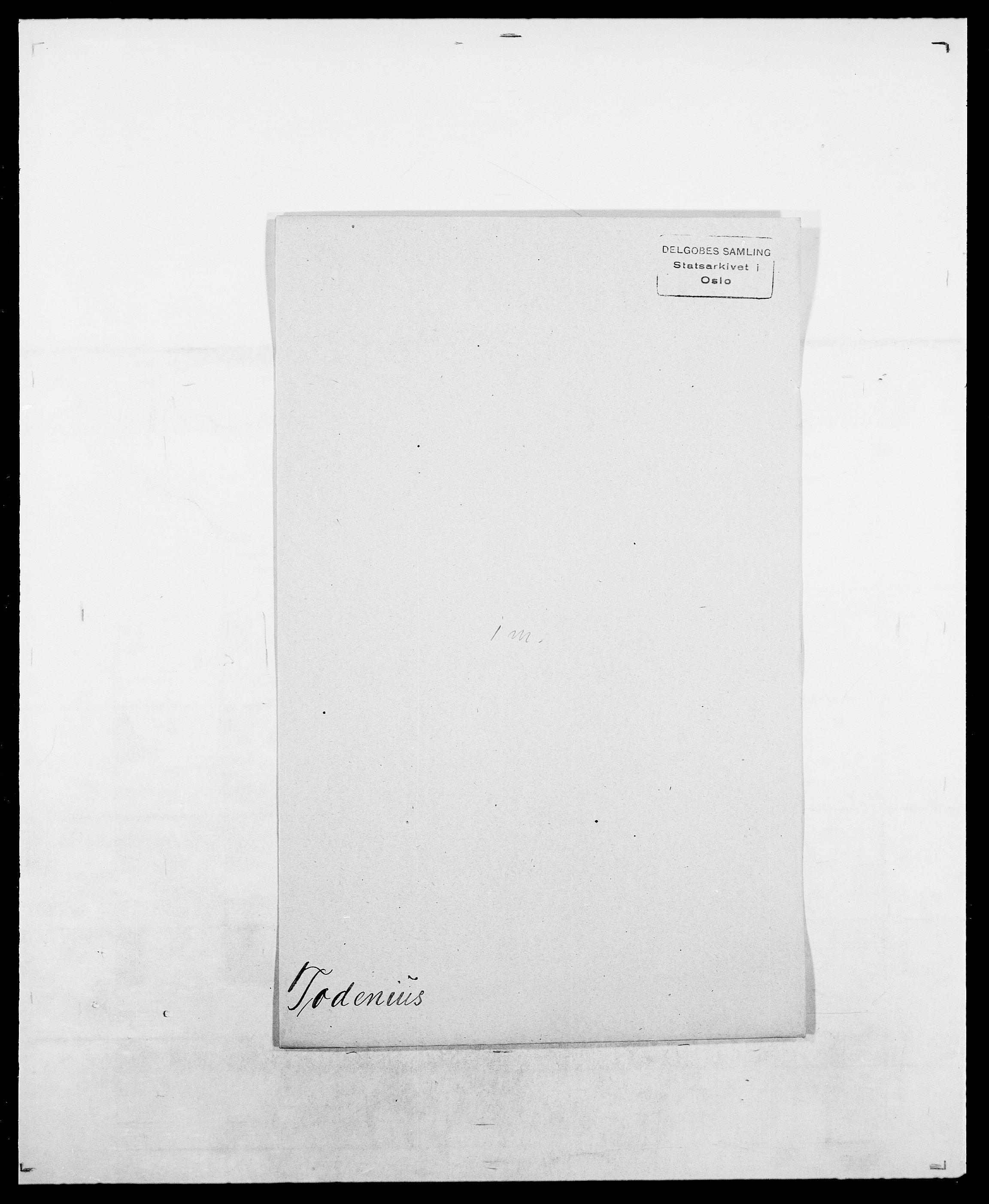 SAO, Delgobe, Charles Antoine - samling, D/Da/L0039: Thorsen - Urup, s. 98