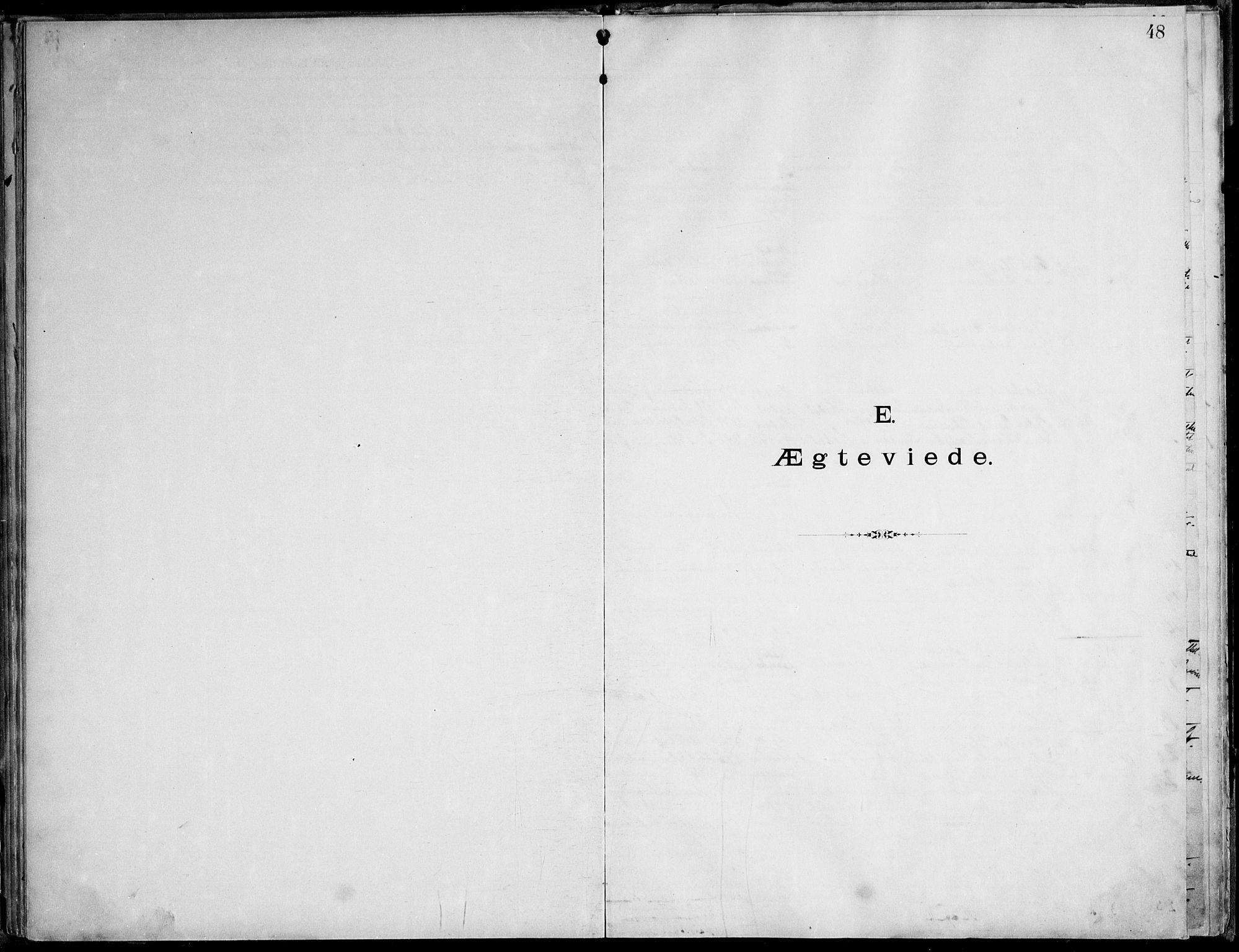 SAT, Ministerialprotokoller, klokkerbøker og fødselsregistre - Nordland, 888/L1276: Dissenterprotokoll nr. 888D03, 1893-1944, s. 48