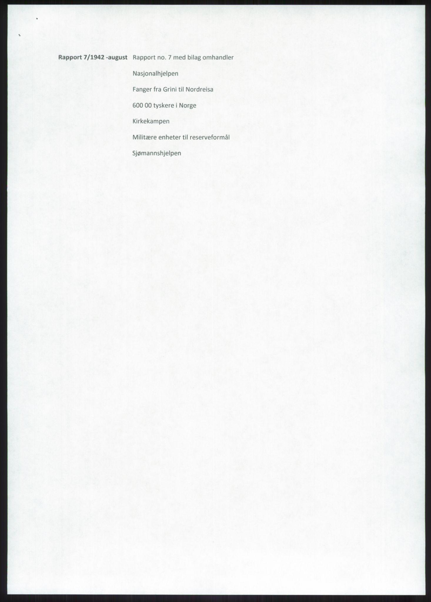 RA, Forsvaret, Forsvarets overkommando, Da/L0079: Etterretningsrapporter, 1942, s. 51
