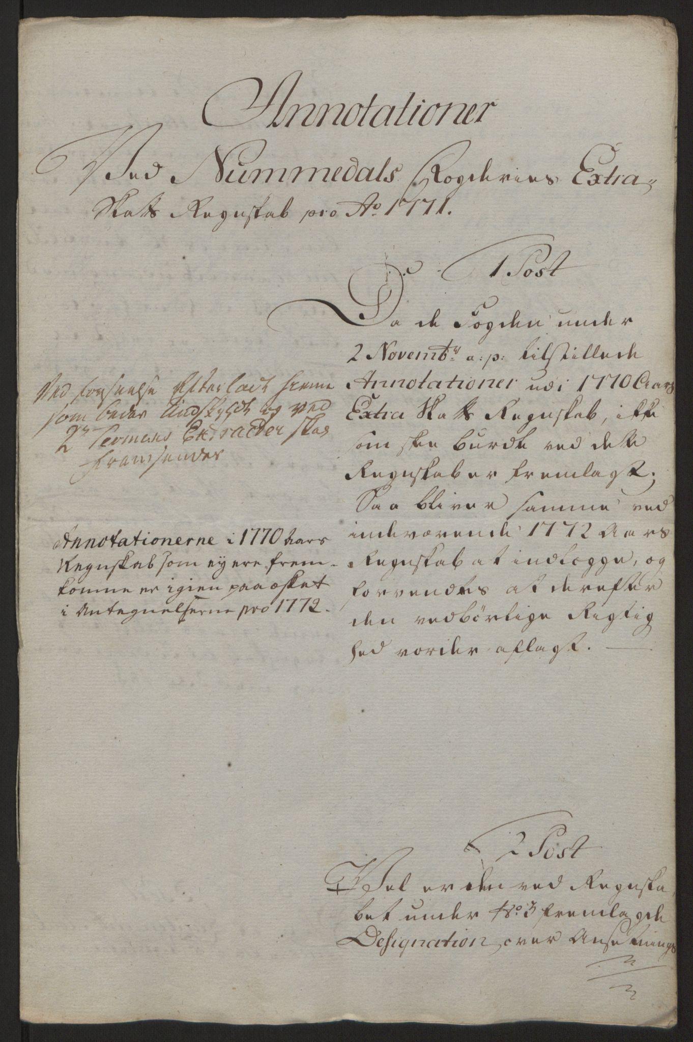 RA, Rentekammeret inntil 1814, Reviderte regnskaper, Fogderegnskap, R64/L4502: Ekstraskatten Namdal, 1762-1772, s. 437