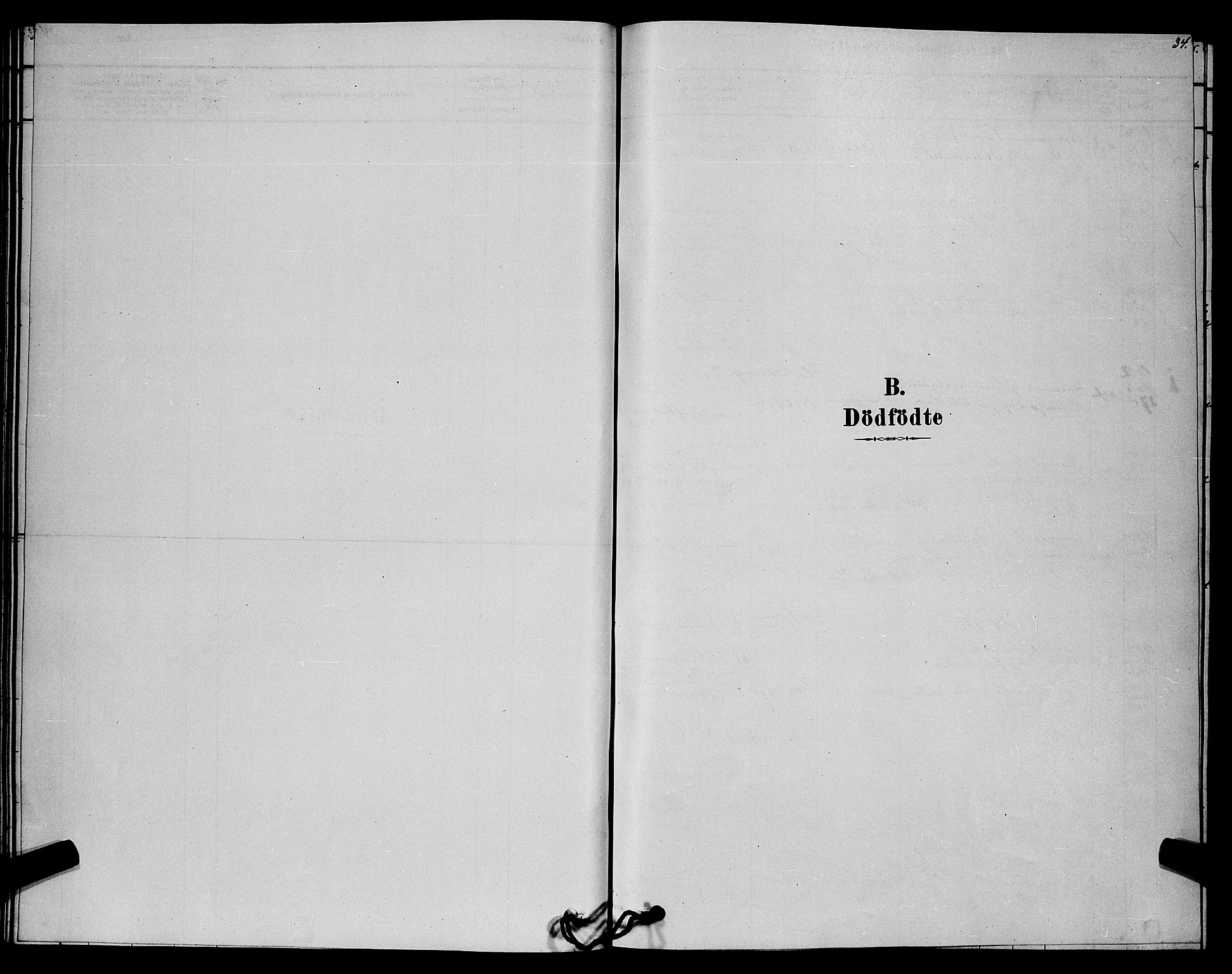 SAKO, Lårdal kirkebøker, G/Gc/L0003: Klokkerbok nr. III 3, 1878-1890, s. 34