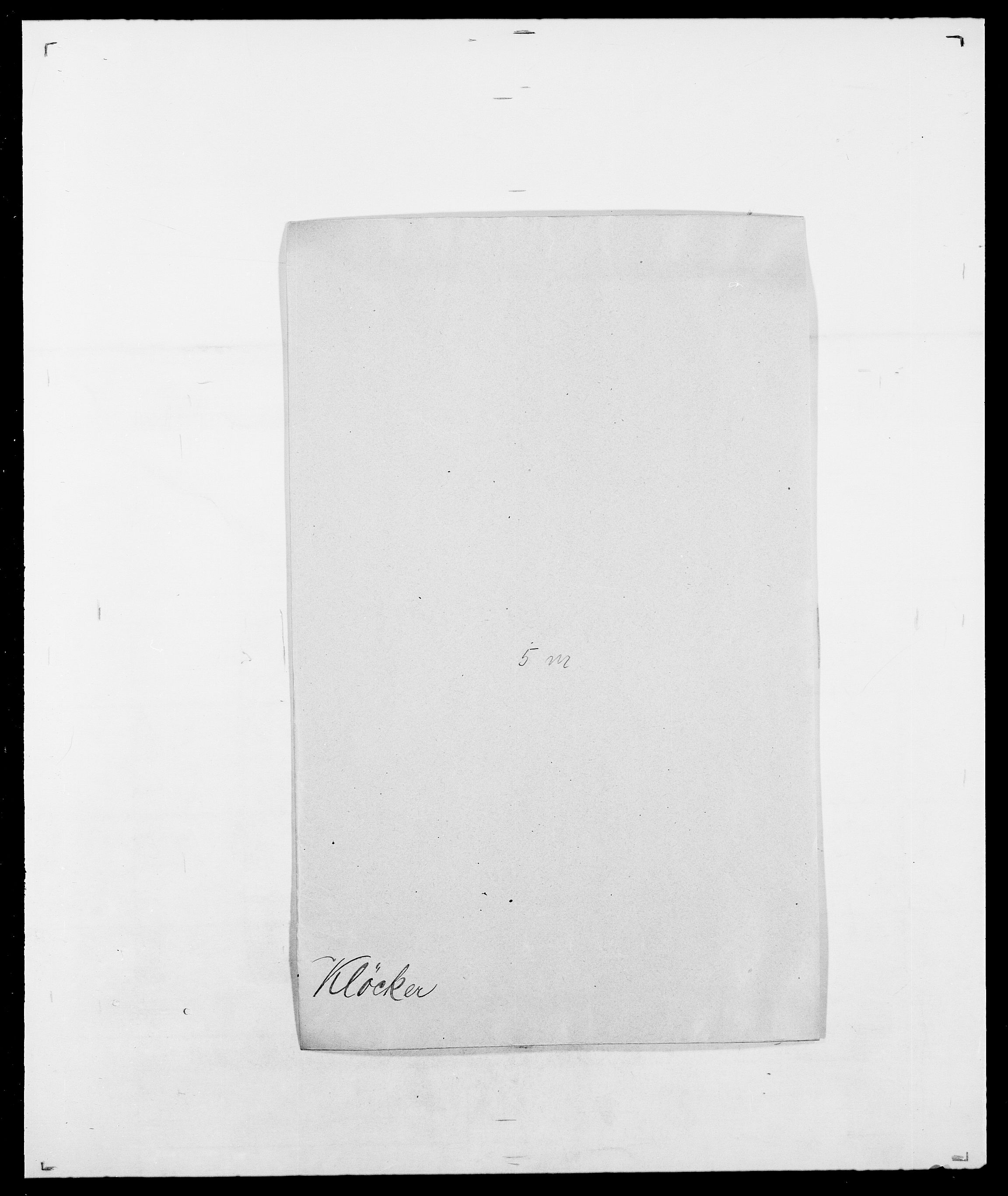 SAO, Delgobe, Charles Antoine - samling, D/Da/L0021: Klagenberg - Kristoft, s. 224