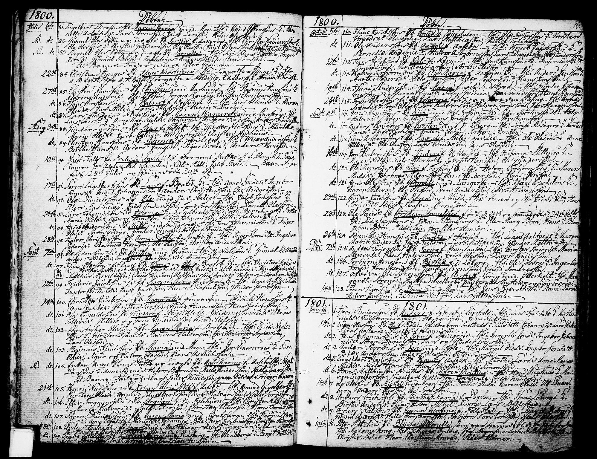SAKO, Gjerpen kirkebøker, F/Fa/L0003: Ministerialbok nr. 3, 1796-1814, s. 16