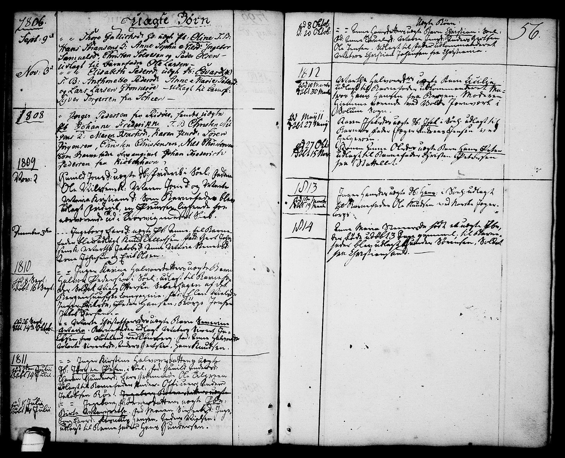 SAKO, Brevik kirkebøker, F/Fa/L0003: Ministerialbok nr. 3, 1764-1814, s. 56