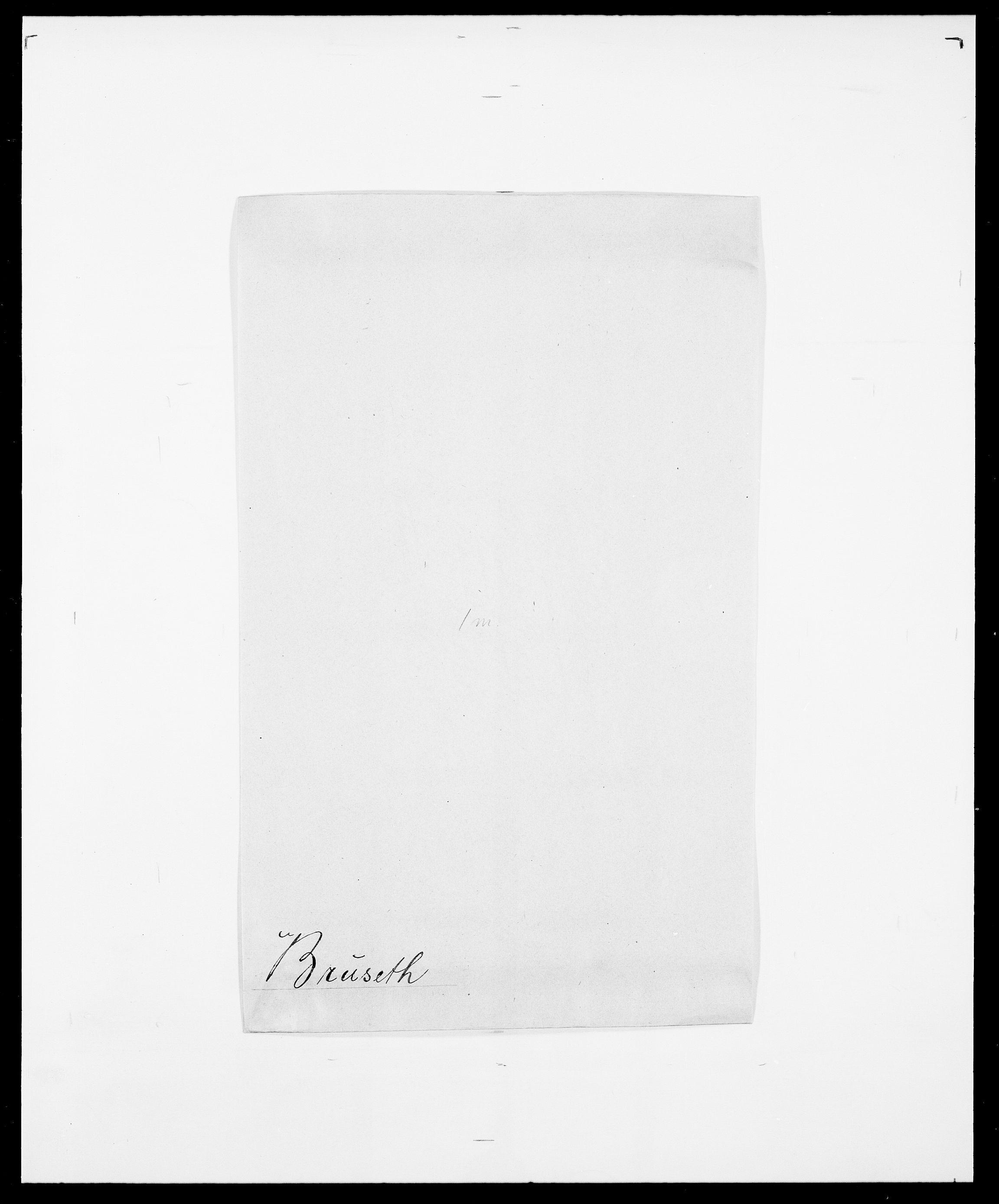 SAO, Delgobe, Charles Antoine - samling, D/Da/L0006: Brambani - Brønø, s. 847