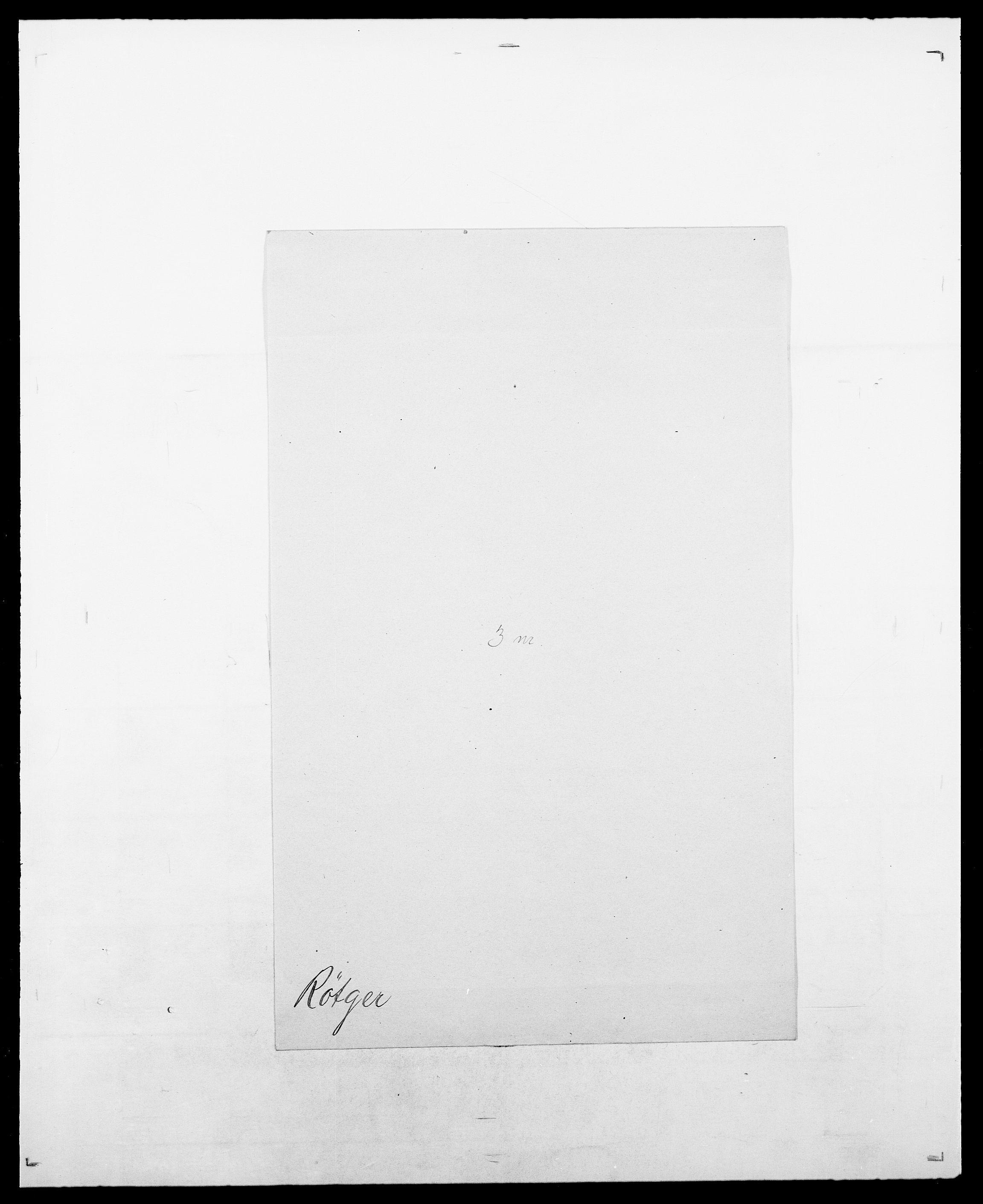 SAO, Delgobe, Charles Antoine - samling, D/Da/L0033: Roald - Røyem, s. 818