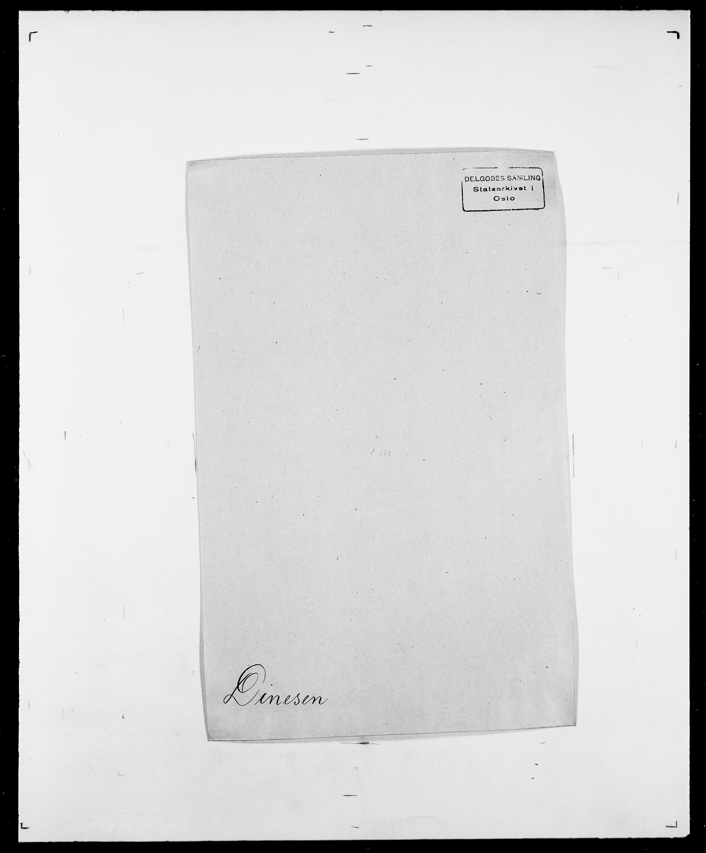 SAO, Delgobe, Charles Antoine - samling, D/Da/L0009: Dahl - v. Düren, s. 578