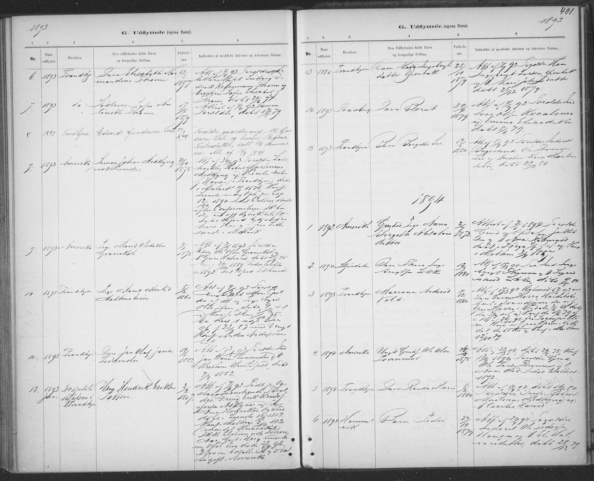 SAT, Ministerialprotokoller, klokkerbøker og fødselsregistre - Sør-Trøndelag, 691/L1085: Ministerialbok nr. 691A17, 1887-1908, s. 401