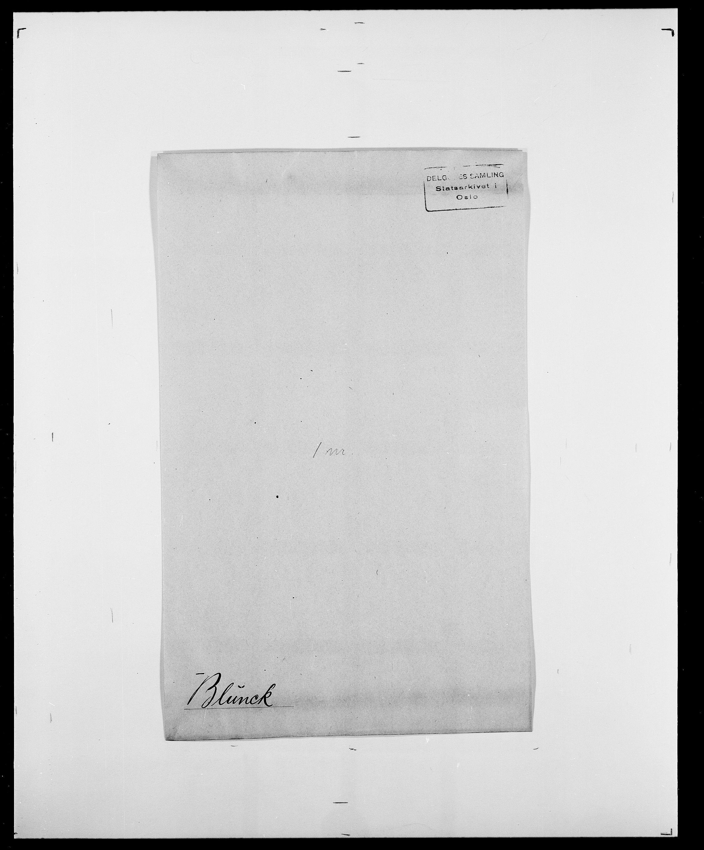 SAO, Delgobe, Charles Antoine - samling, D/Da/L0004: Bergendahl - Blære, s. 798