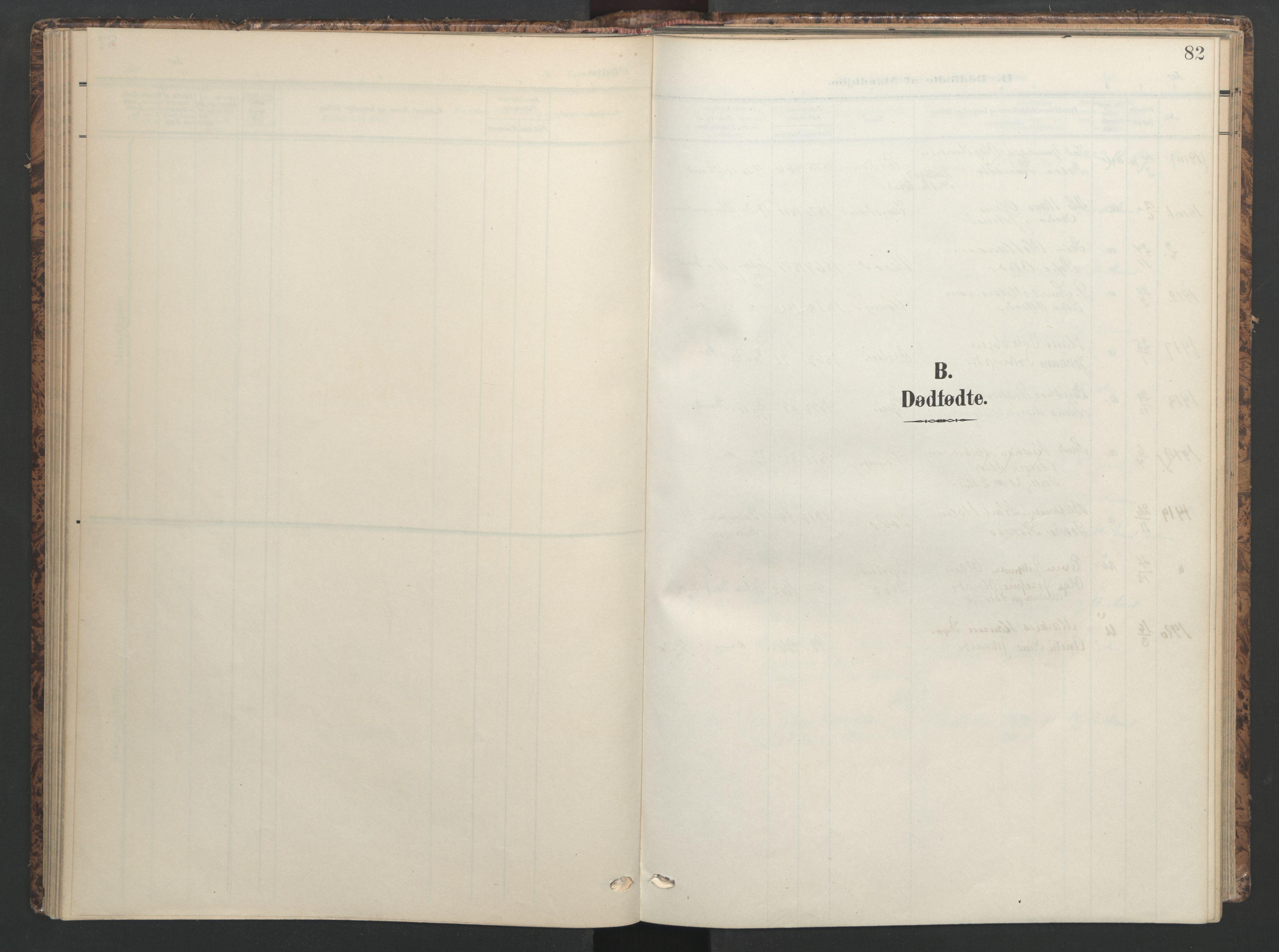 SAT, Ministerialprotokoller, klokkerbøker og fødselsregistre - Sør-Trøndelag, 655/L0682: Ministerialbok nr. 655A11, 1908-1922, s. 82