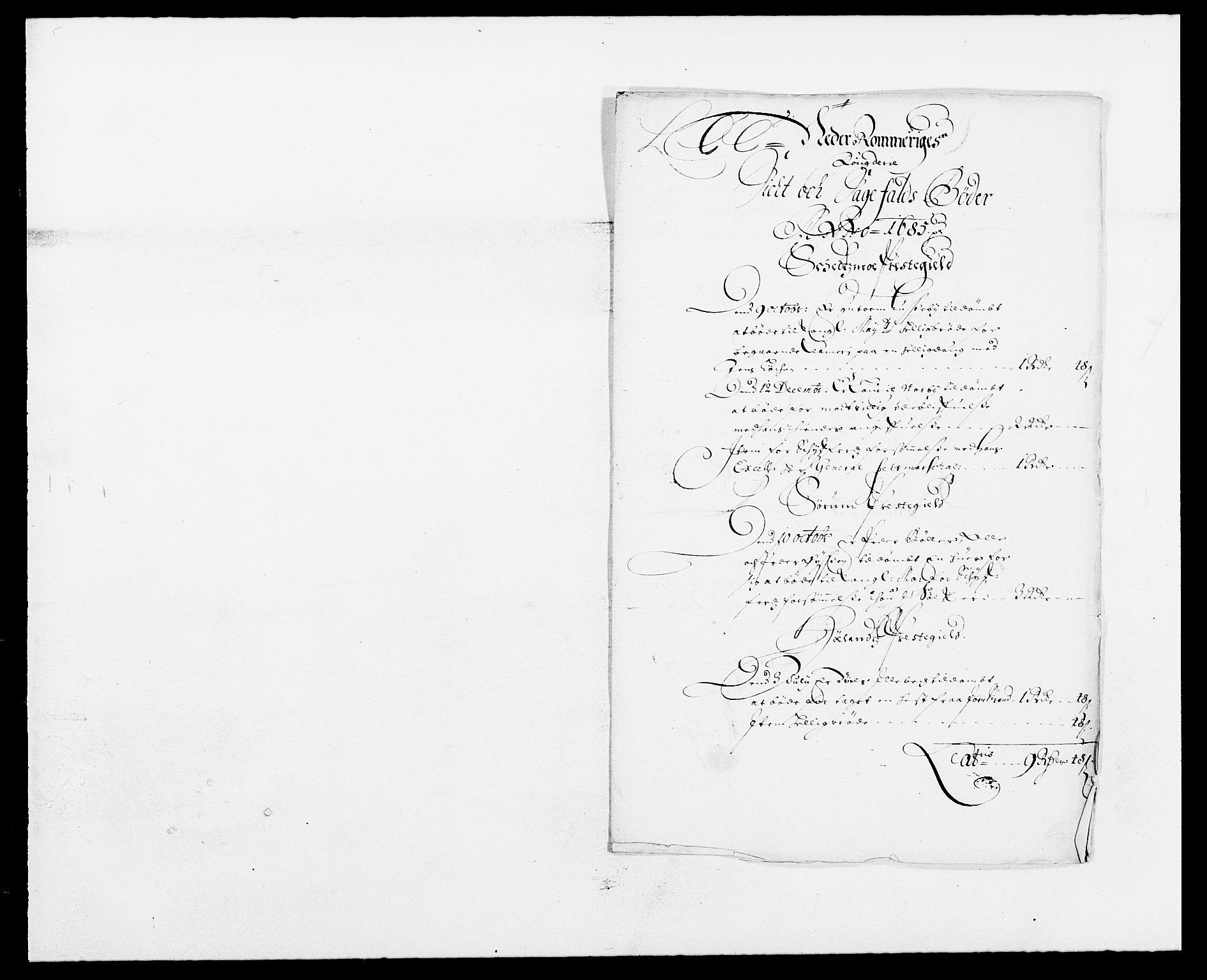 RA, Rentekammeret inntil 1814, Reviderte regnskaper, Fogderegnskap, R11/L0571: Fogderegnskap Nedre Romerike, 1683-1685, s. 364