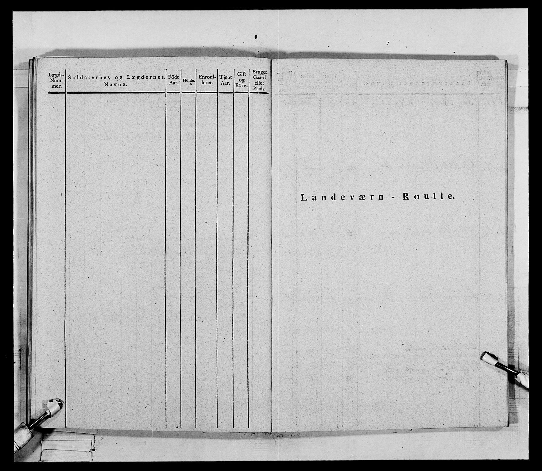 RA, Generalitets- og kommissariatskollegiet, Det kongelige norske kommissariatskollegium, E/Eh/L0069: Opplandske gevorbne infanteriregiment, 1810-1818, s. 543
