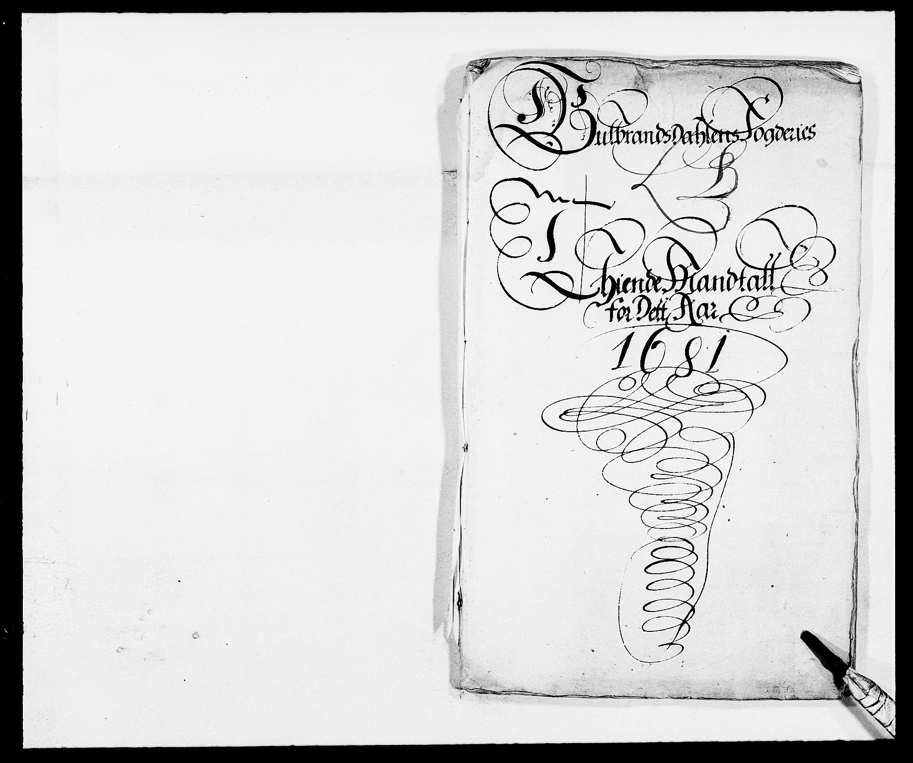 RA, Rentekammeret inntil 1814, Reviderte regnskaper, Fogderegnskap, R17/L1155: Fogderegnskap Gudbrandsdal, 1681, s. 176