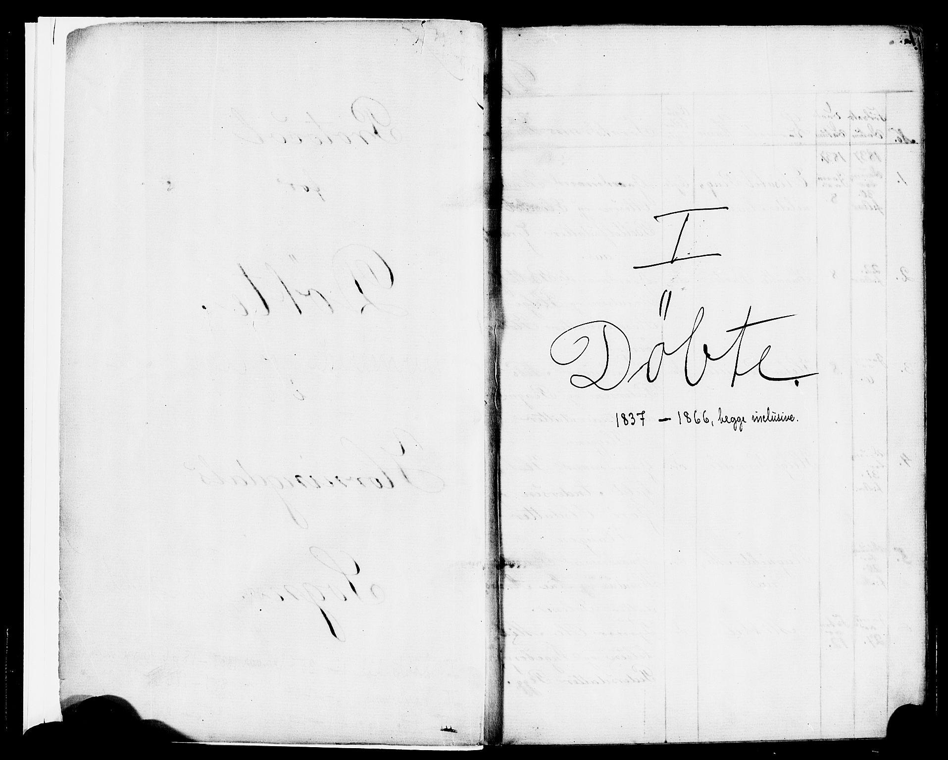 SAB, Eid Sokneprestembete, H/Haa: Ministerialbok nr. A 1, 1837-1866