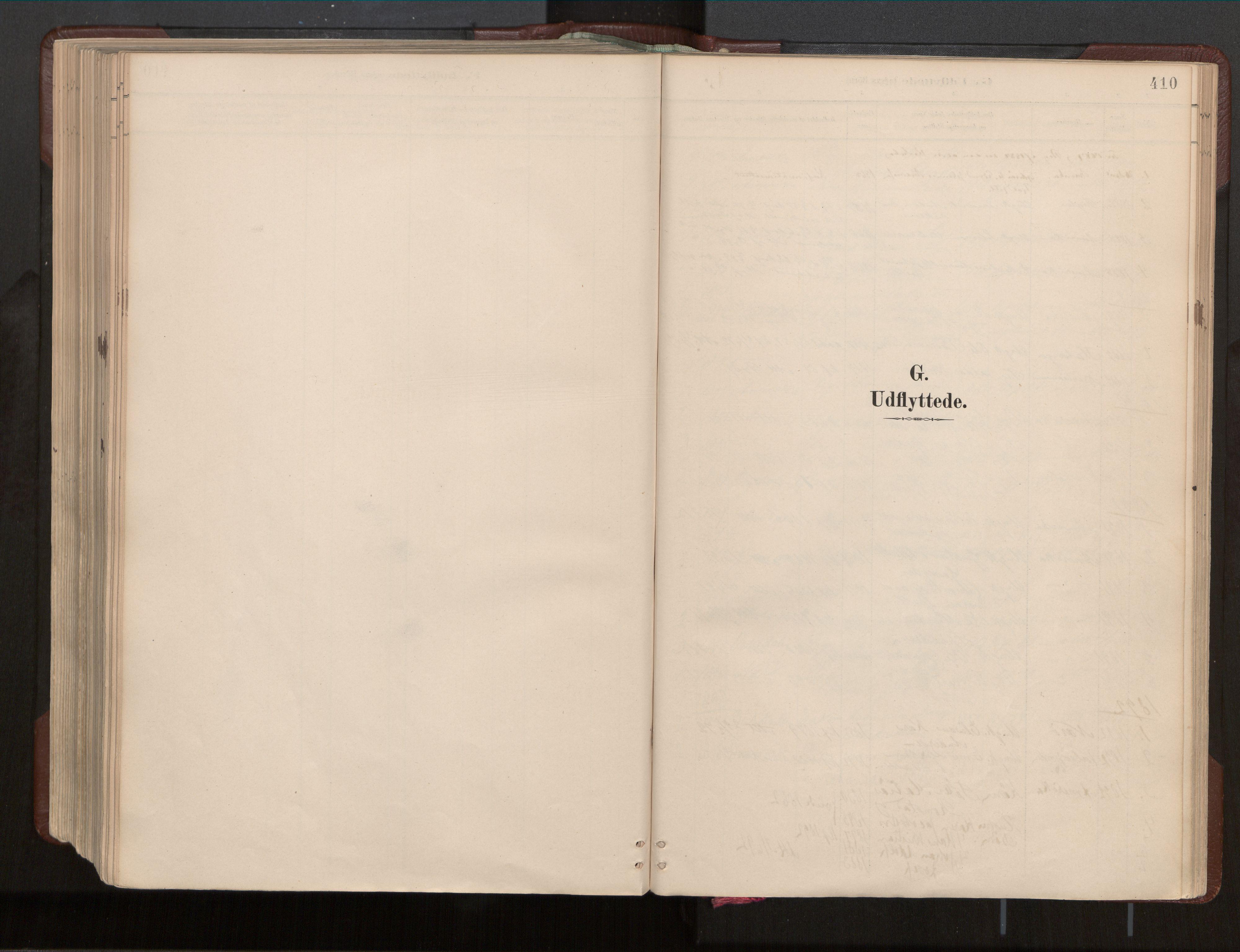 SAT, Ministerialprotokoller, klokkerbøker og fødselsregistre - Nord-Trøndelag, 770/L0589: Ministerialbok nr. 770A03, 1887-1929, s. 410