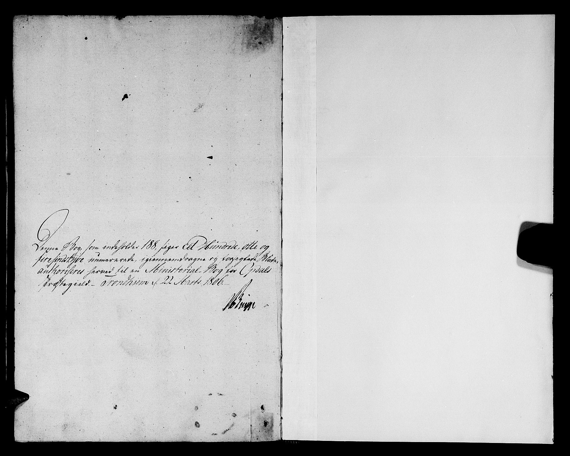 SAT, Ministerialprotokoller, klokkerbøker og fødselsregistre - Sør-Trøndelag, 678/L0894: Ministerialbok nr. 678A04, 1806-1815
