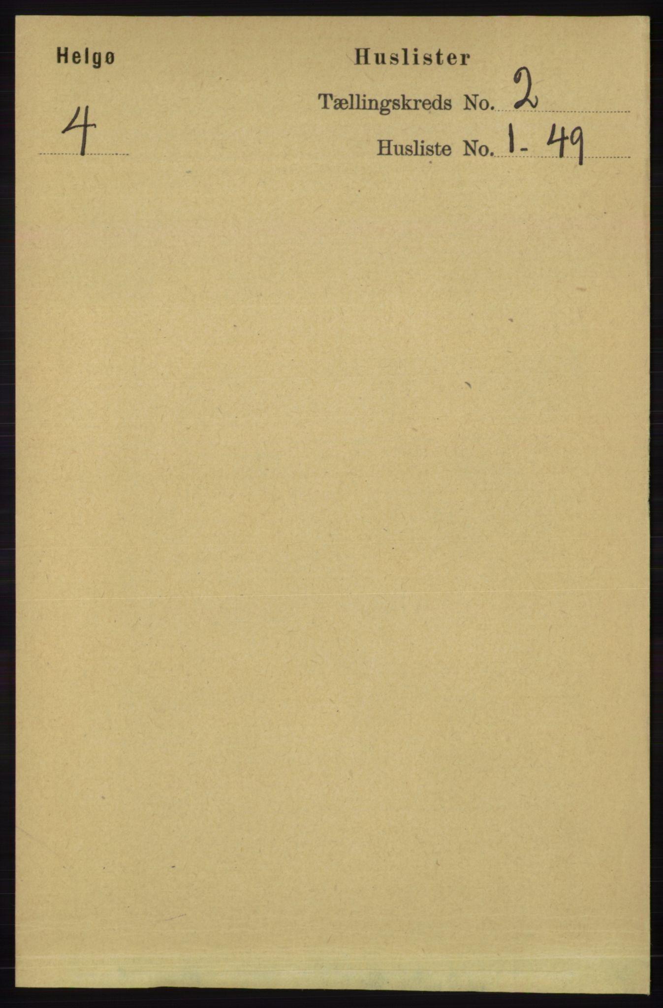 RA, Folketelling 1891 for 1935 Helgøy herred, 1891, s. 282