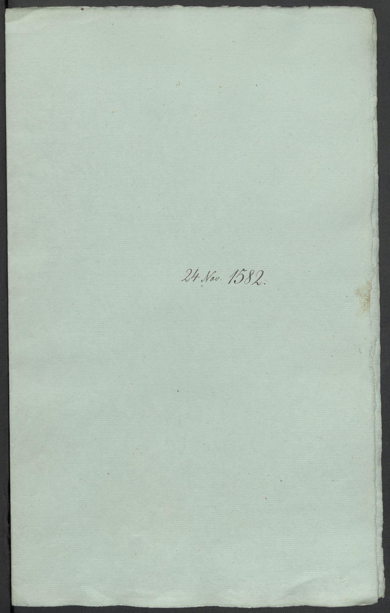 RA, Riksarkivets diplomsamling, F02/L0084: Dokumenter, 1582, s. 50