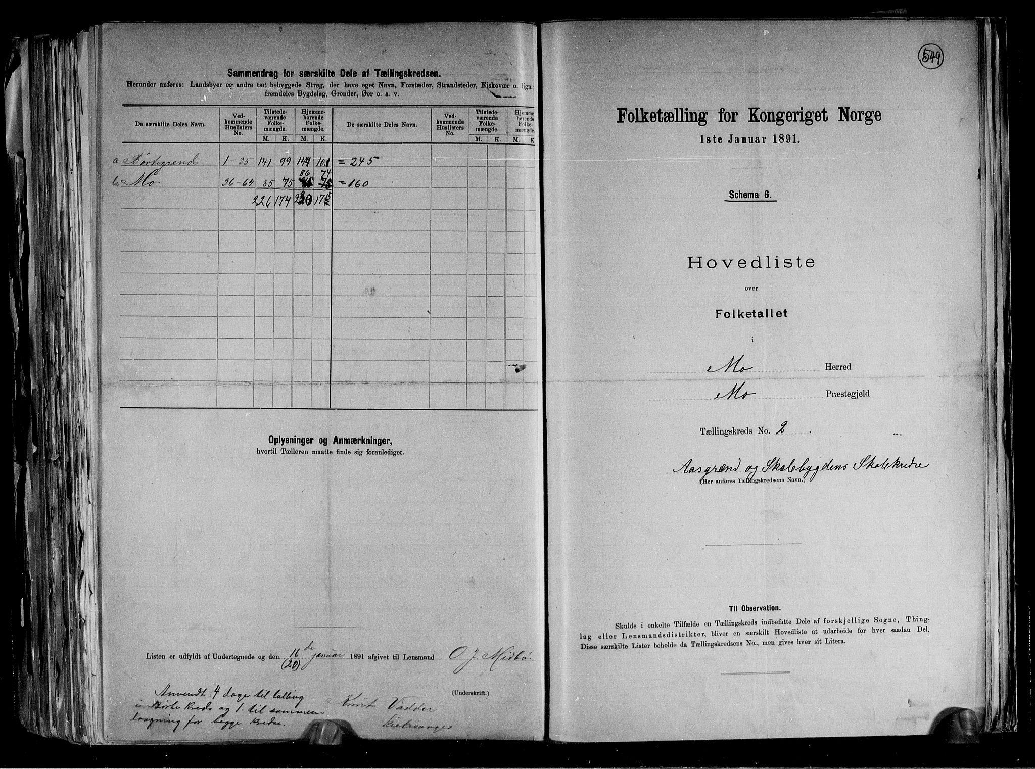 RA, Folketelling 1891 for 0832 Mo herred, 1891, s. 7