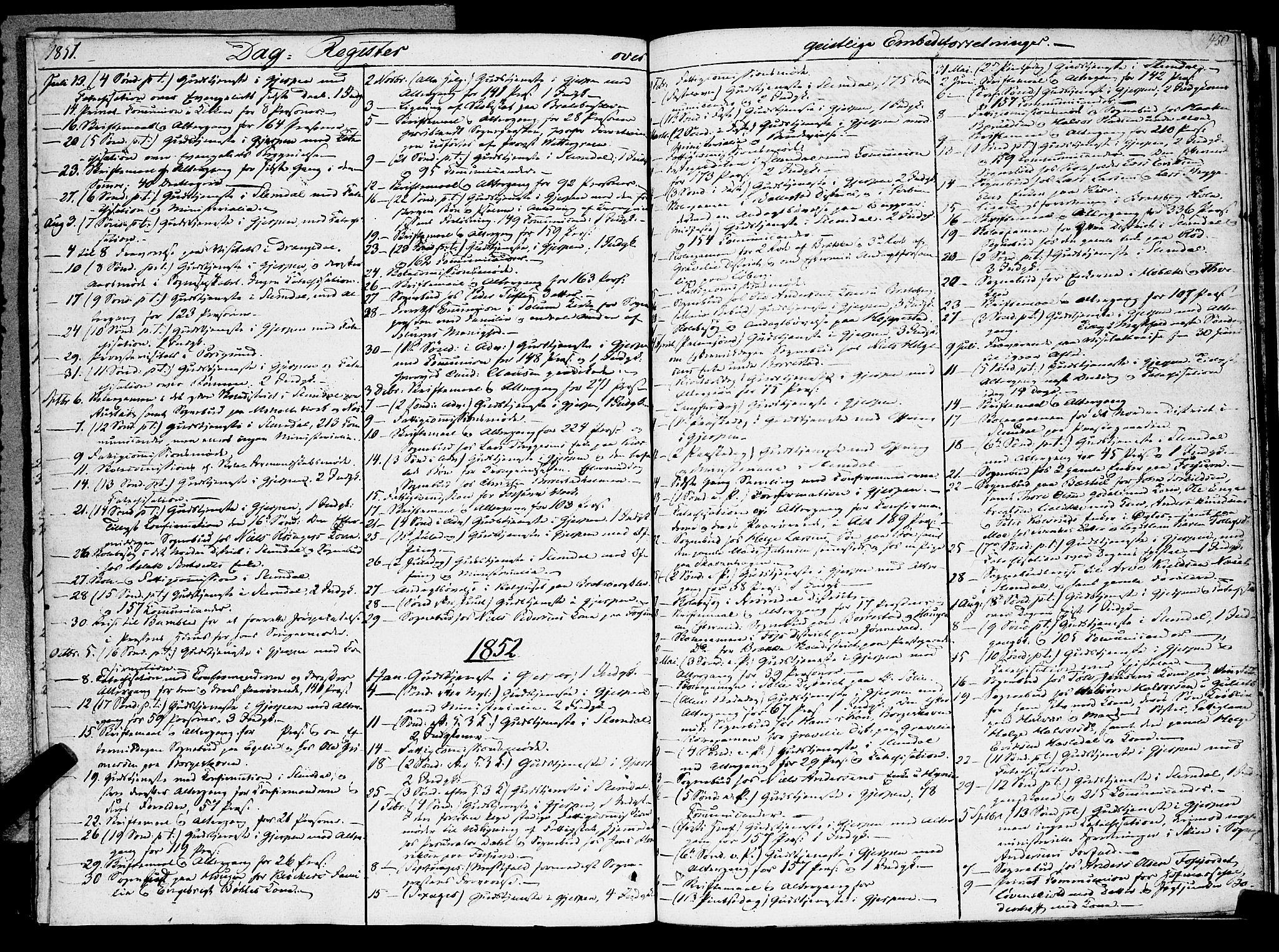 SAKO, Gjerpen kirkebøker, F/Fa/L0007b: Ministerialbok nr. 7B, 1834-1857, s. 450