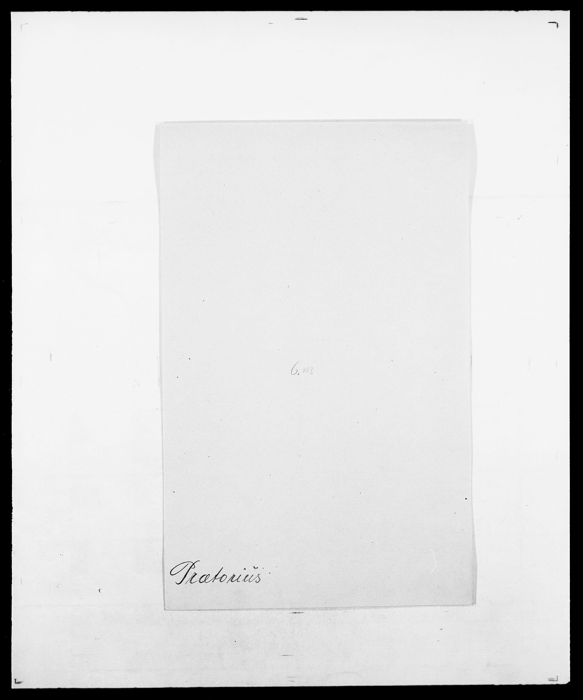 SAO, Delgobe, Charles Antoine - samling, D/Da/L0031: de Place - Raaum, s. 407