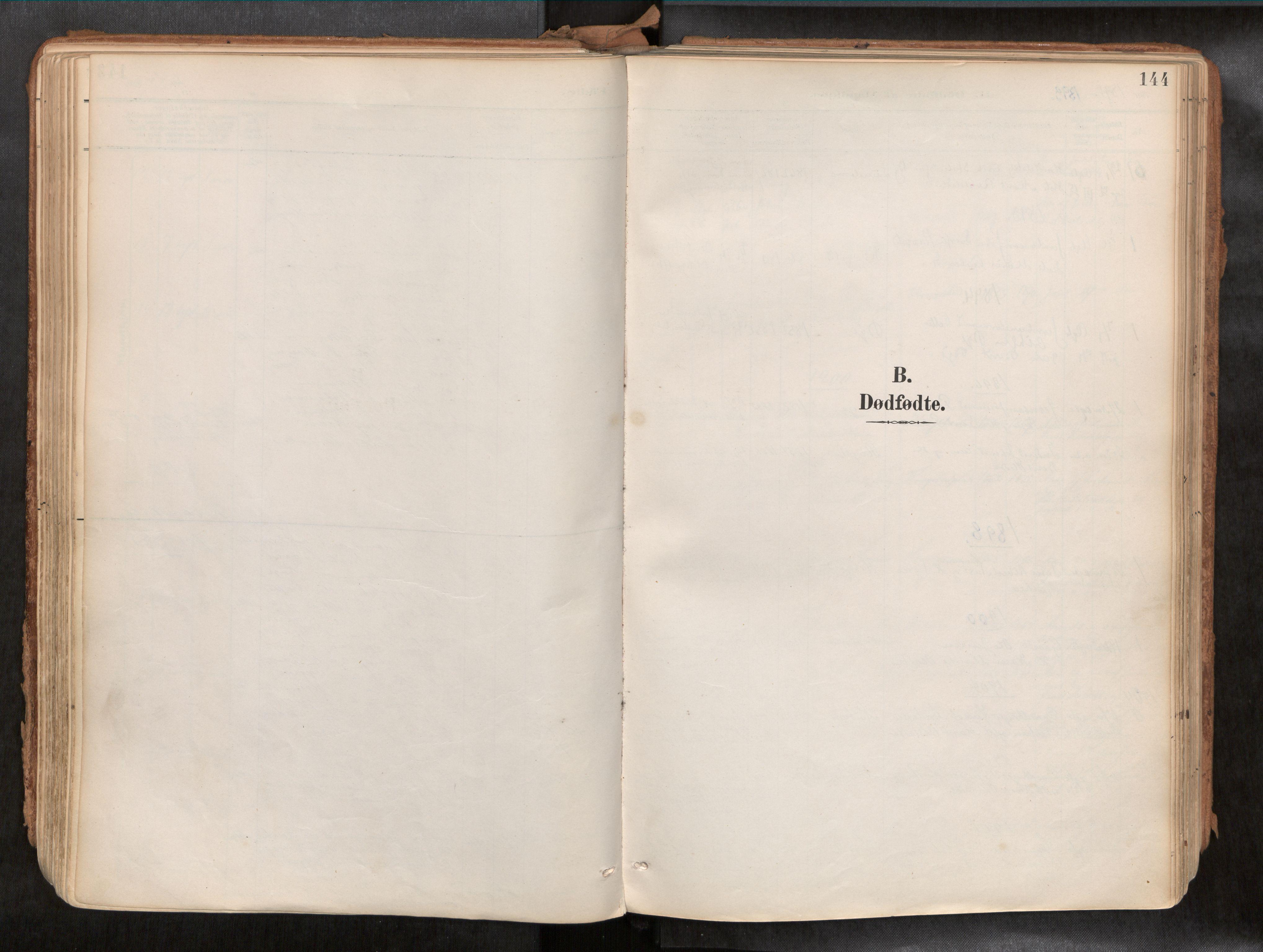 SAT, Ministerialprotokoller, klokkerbøker og fødselsregistre - Sør-Trøndelag, 692/L1105b: Ministerialbok nr. 692A06, 1891-1934, s. 144