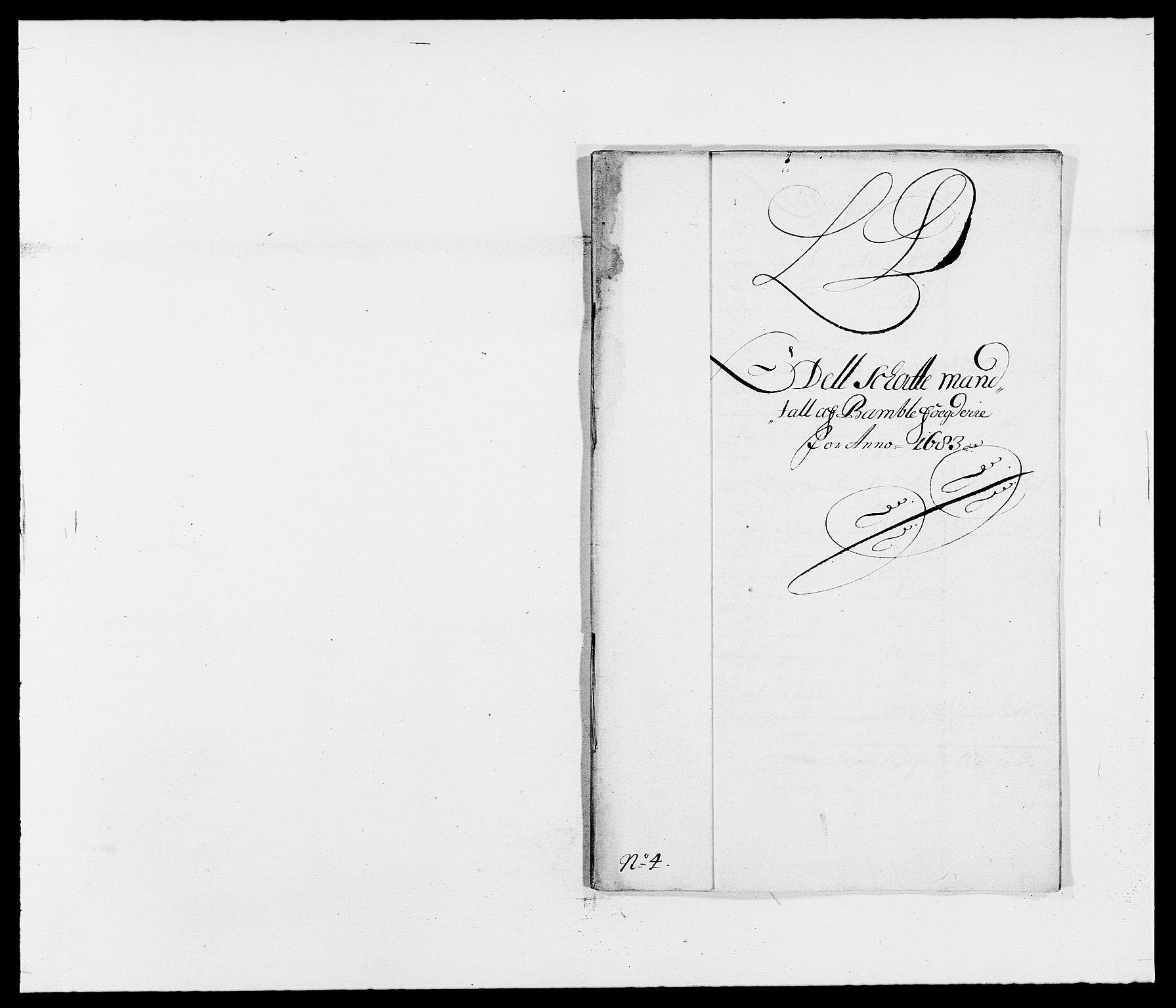 RA, Rentekammeret inntil 1814, Reviderte regnskaper, Fogderegnskap, R34/L2046: Fogderegnskap Bamble, 1682-1683, s. 306