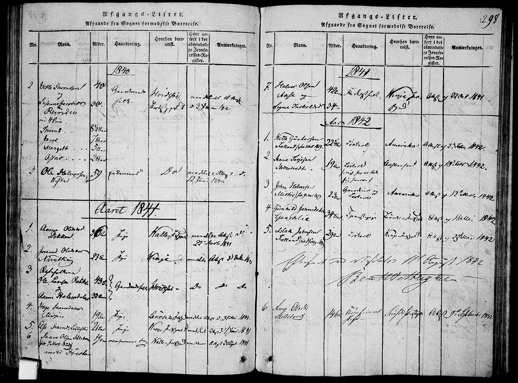 SAKO, Mo kirkebøker, F/Fa/L0004: Ministerialbok nr. I 4, 1814-1844, s. 298