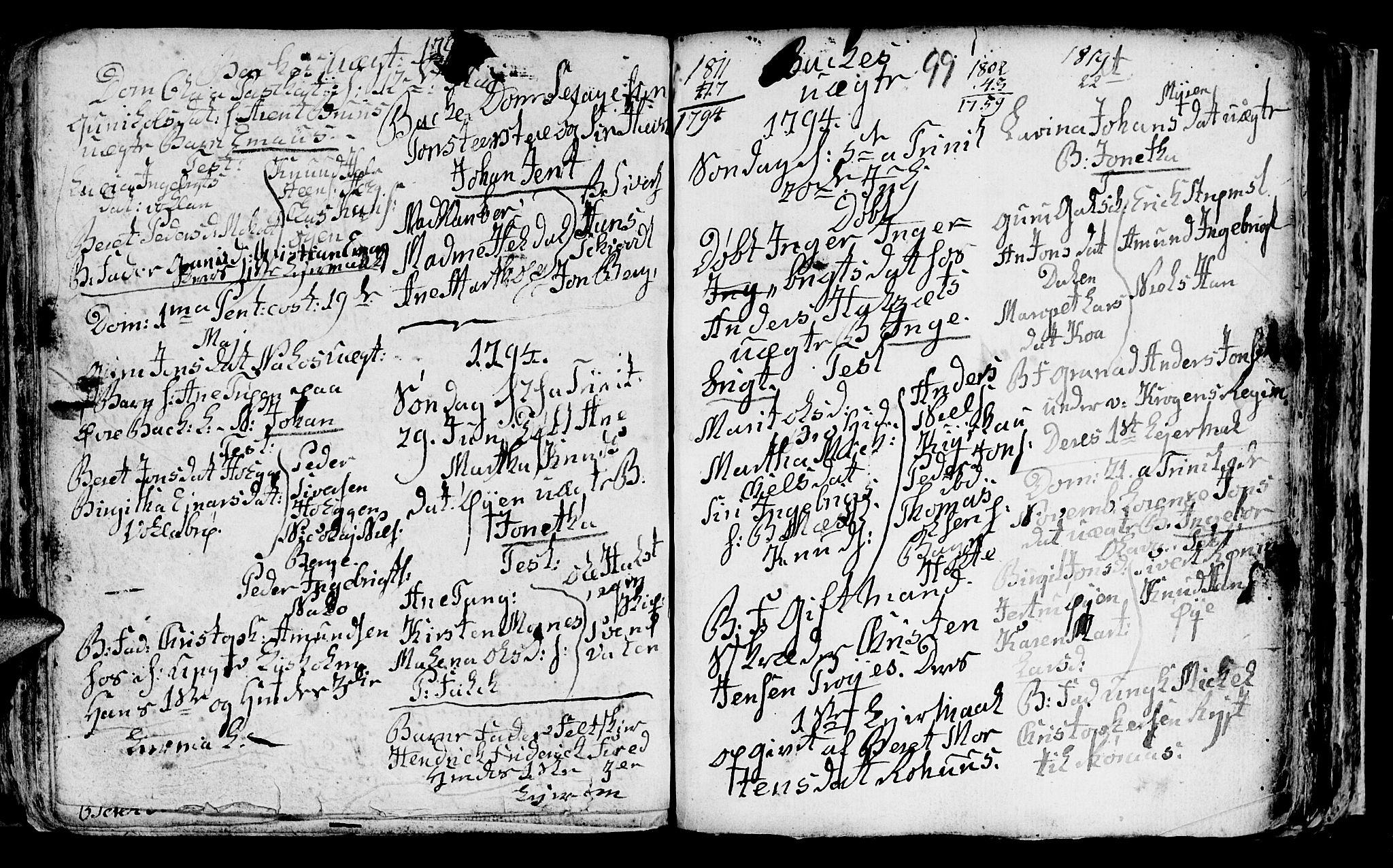 SAT, Ministerialprotokoller, klokkerbøker og fødselsregistre - Sør-Trøndelag, 604/L0218: Klokkerbok nr. 604C01, 1754-1819, s. 99