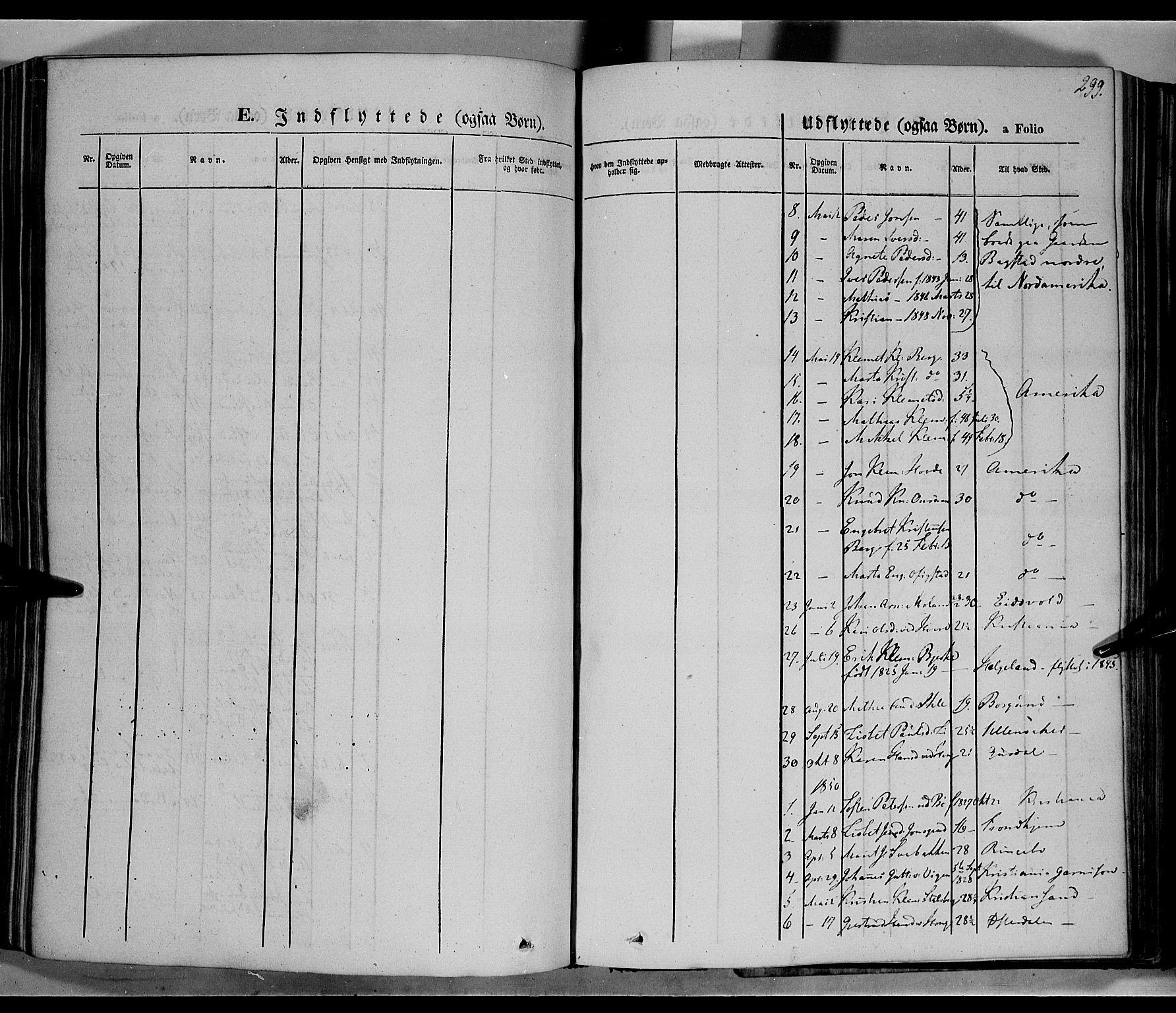 SAH, Øyer prestekontor, Ministerialbok nr. 5, 1842-1857, s. 299