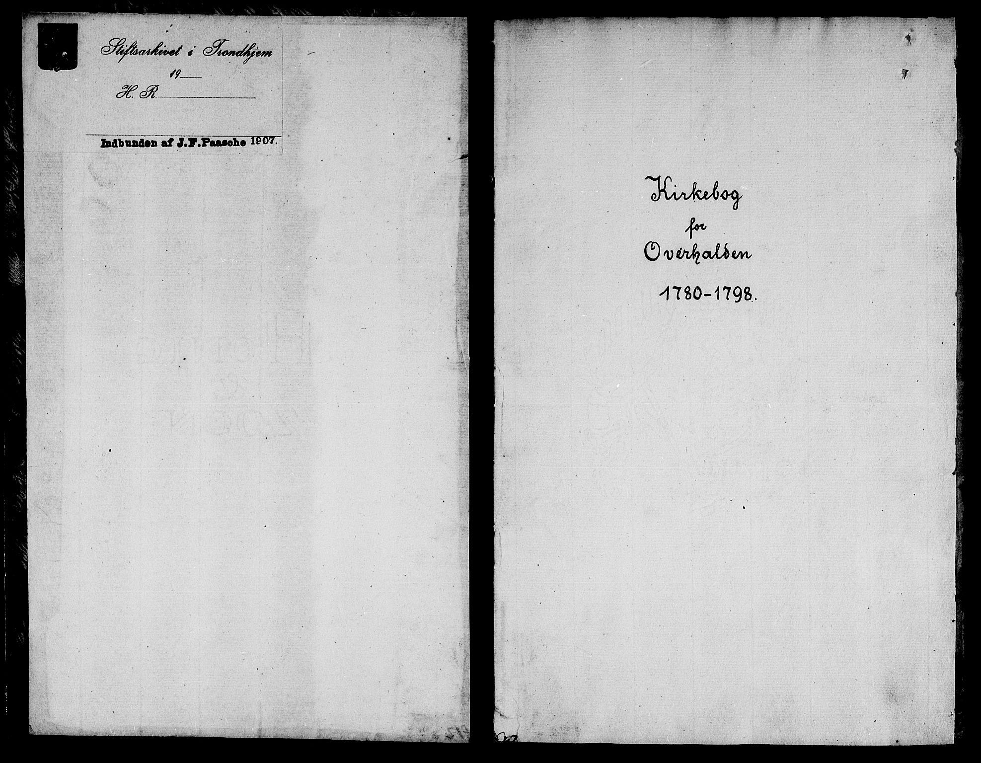 SAT, Ministerialprotokoller, klokkerbøker og fødselsregistre - Nord-Trøndelag, 764/L0544: Ministerialbok nr. 764A04, 1780-1798